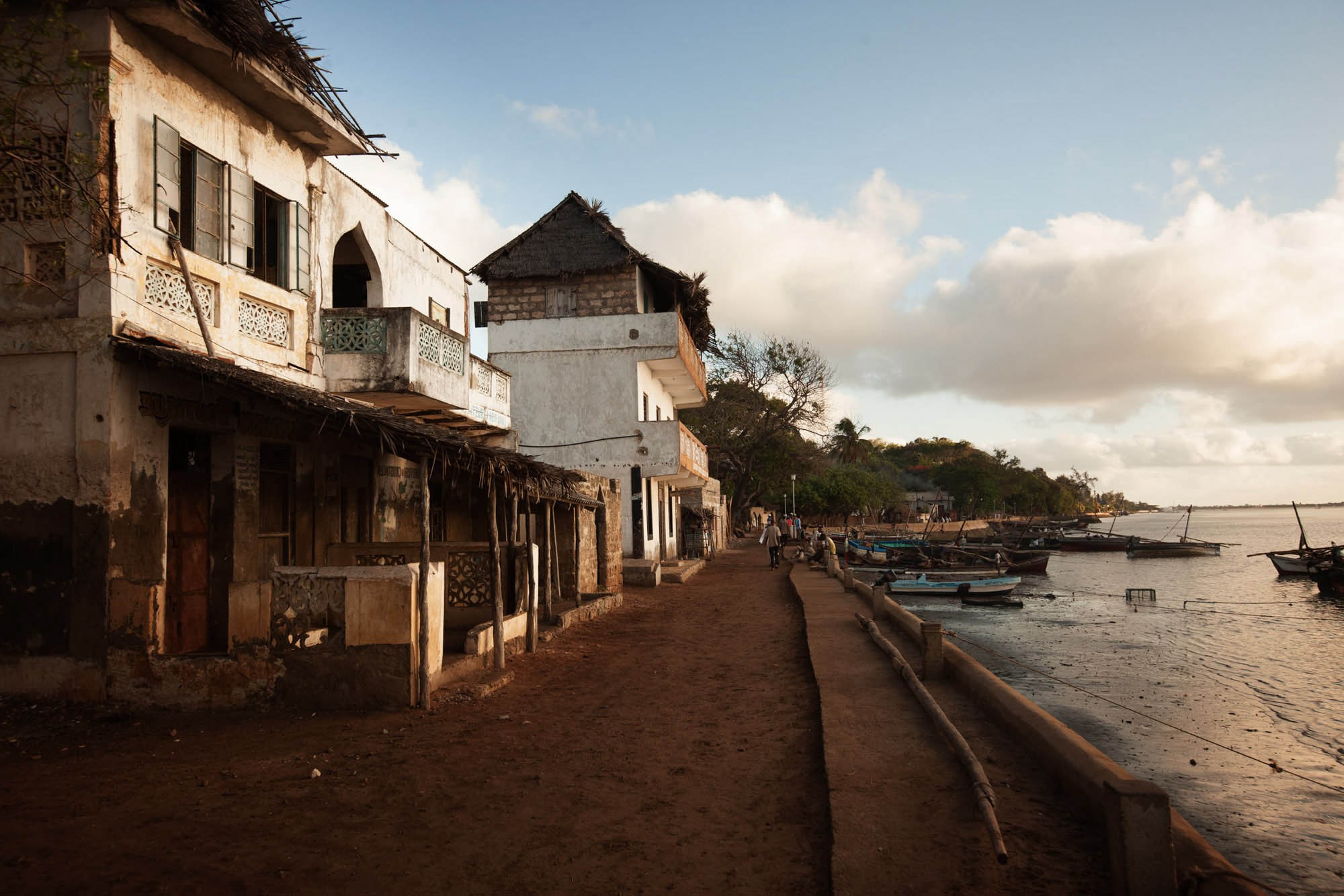 "Swahel is the Arabic word for coast, and the root of ""Swahili."" Because of its strategic location, Lamu's Old Town is one of the earliest settlements on the Swahili Coast of East Africa. 