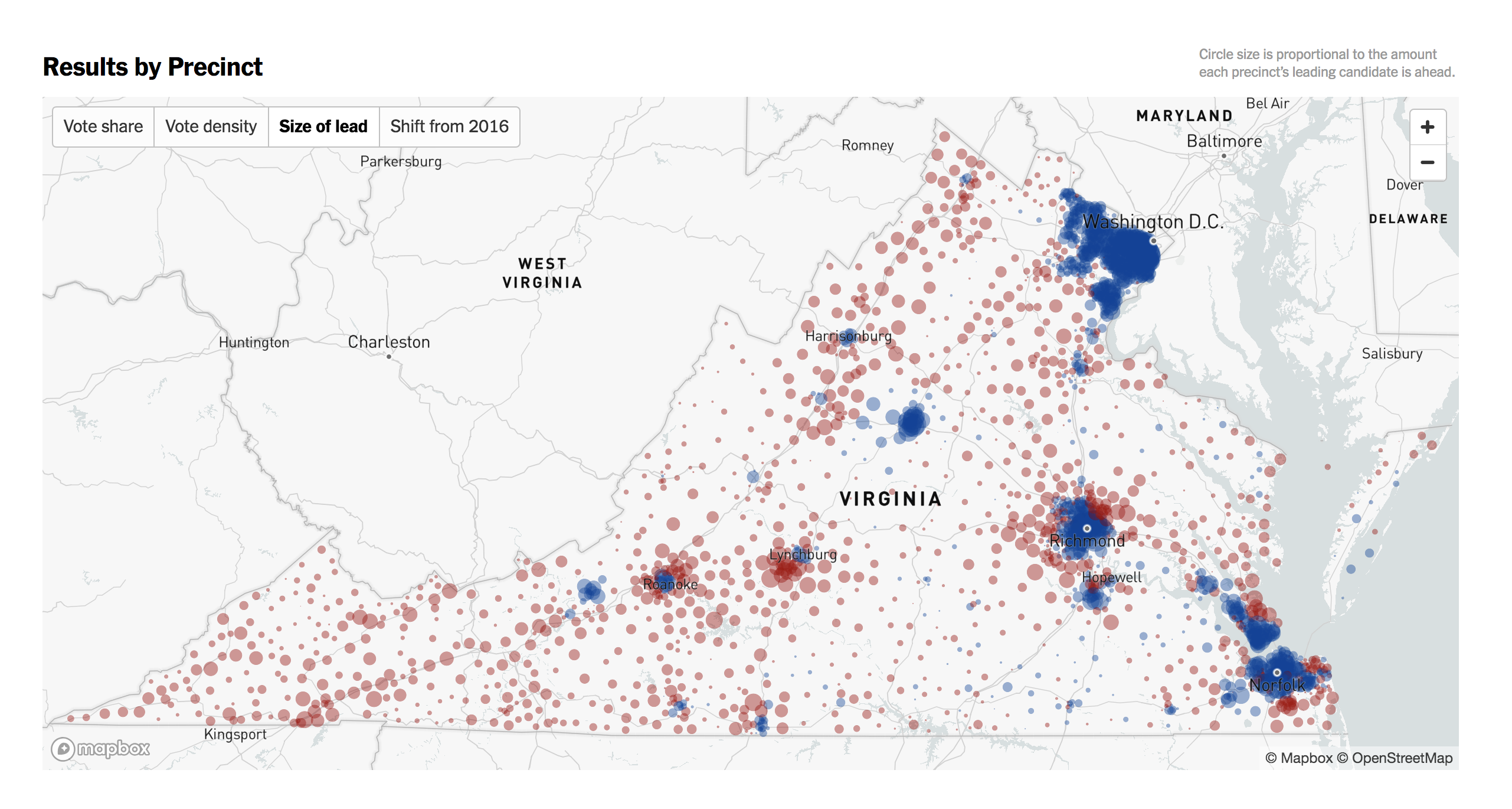 Designing Electoral Maps: Exploring Mapbox GL JS - Points of