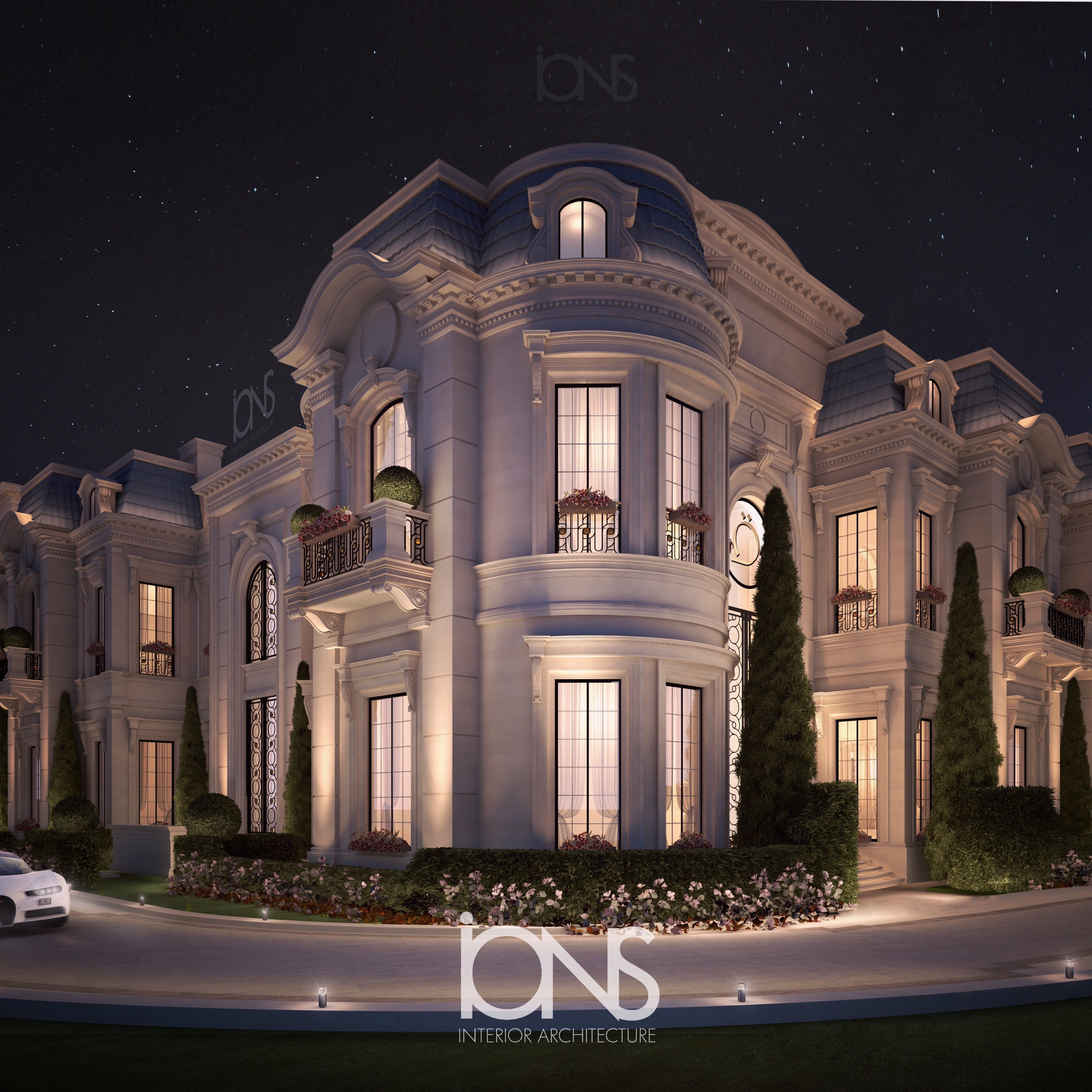 Ions Interior Design Dubai grand architecture for palace and villa design - ions design