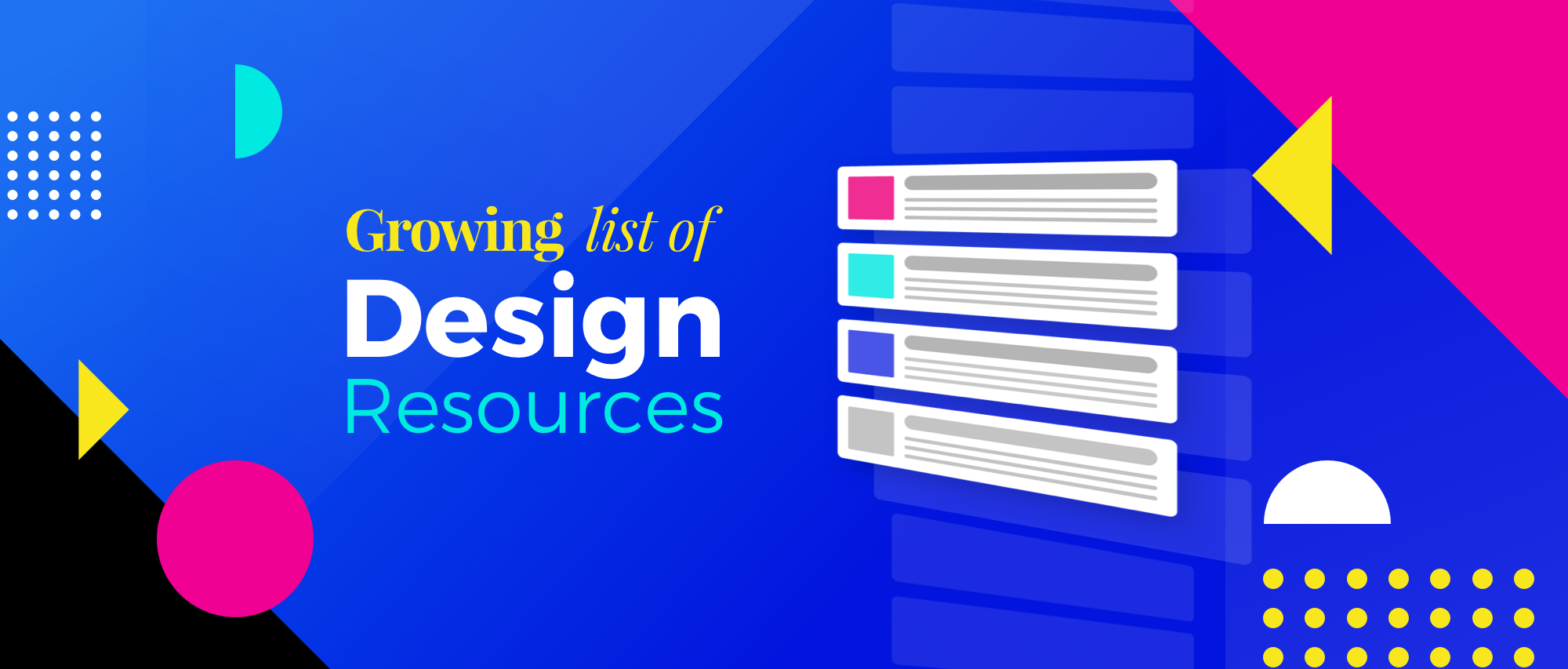 Growing List of Design Resources - Caio Calderari - Medium