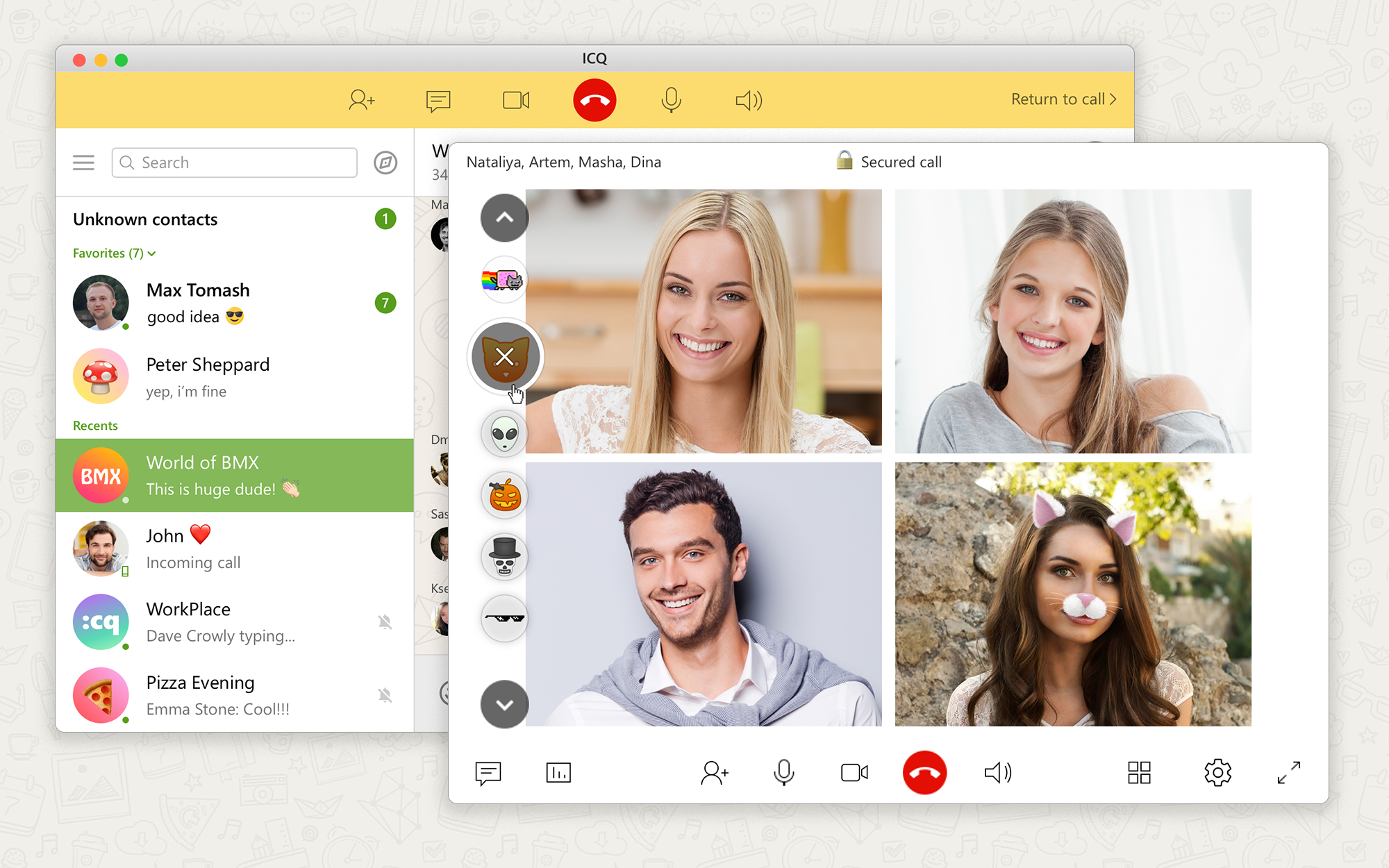 ICQ Messenger Introduces Group Video Calls - Dimitry O