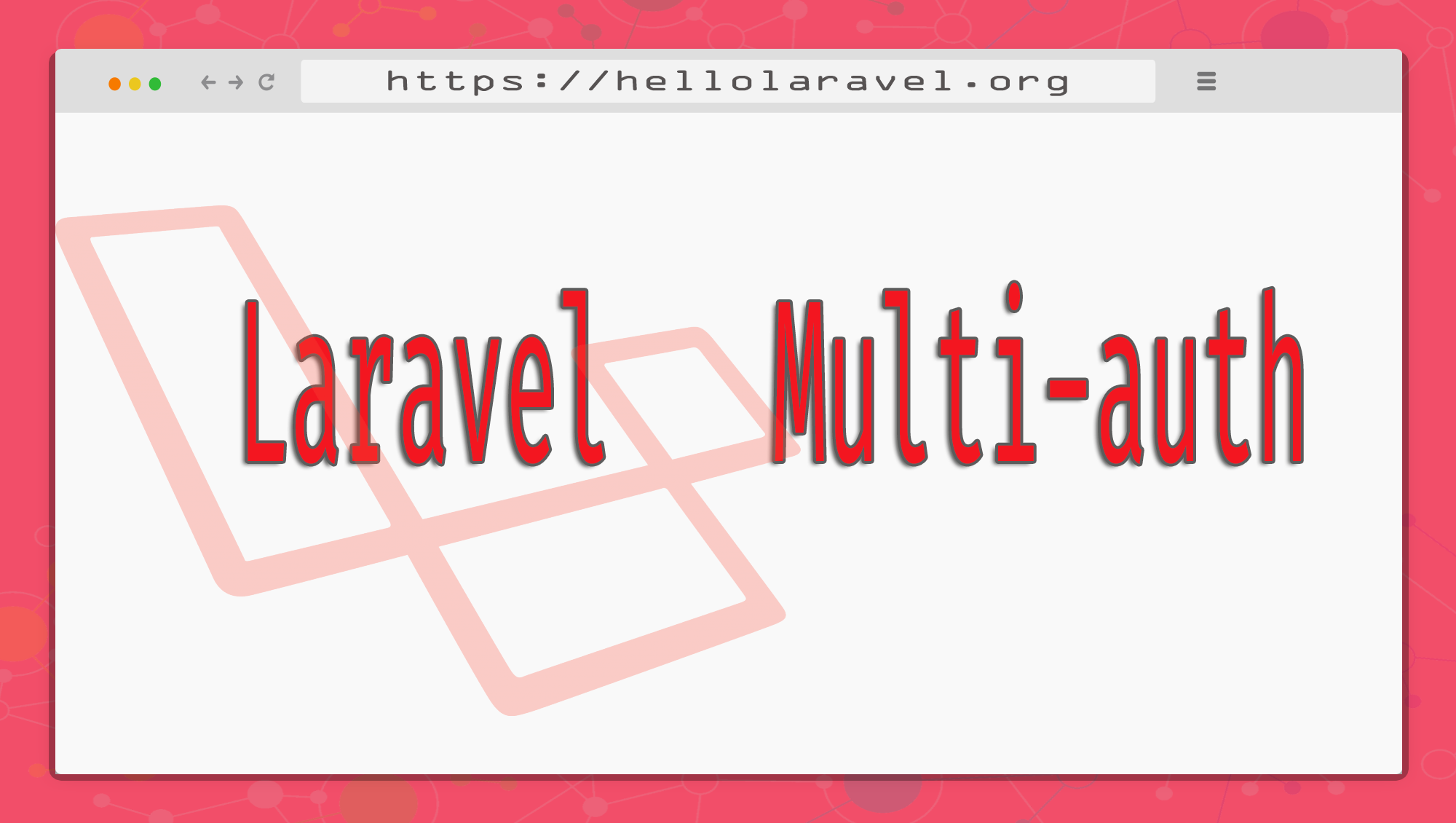 Multiple Authentication System Laravel 5 4 | 5 5 | 5 6 | 5 7