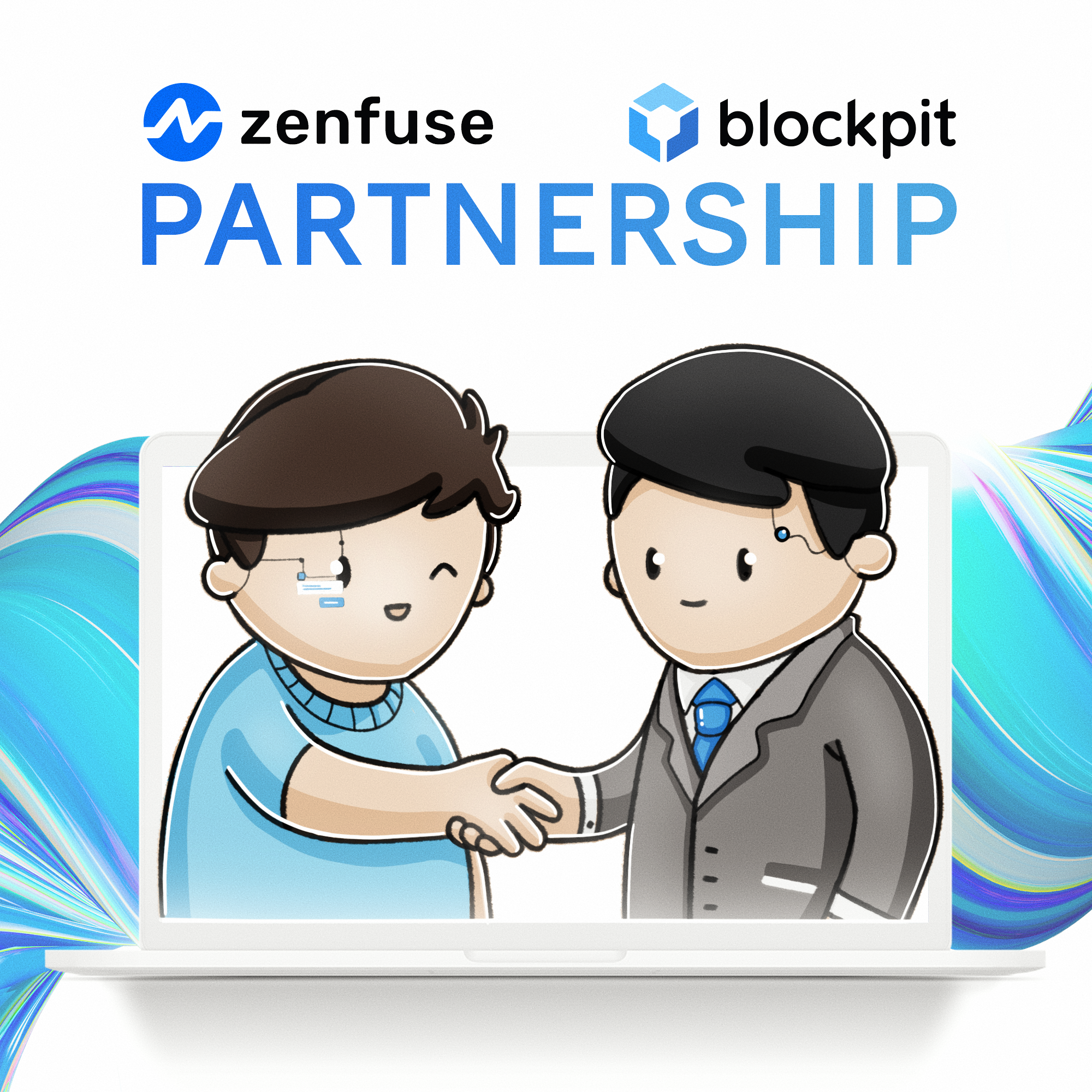 Blockpit & Zenfuse Partnership Announcement