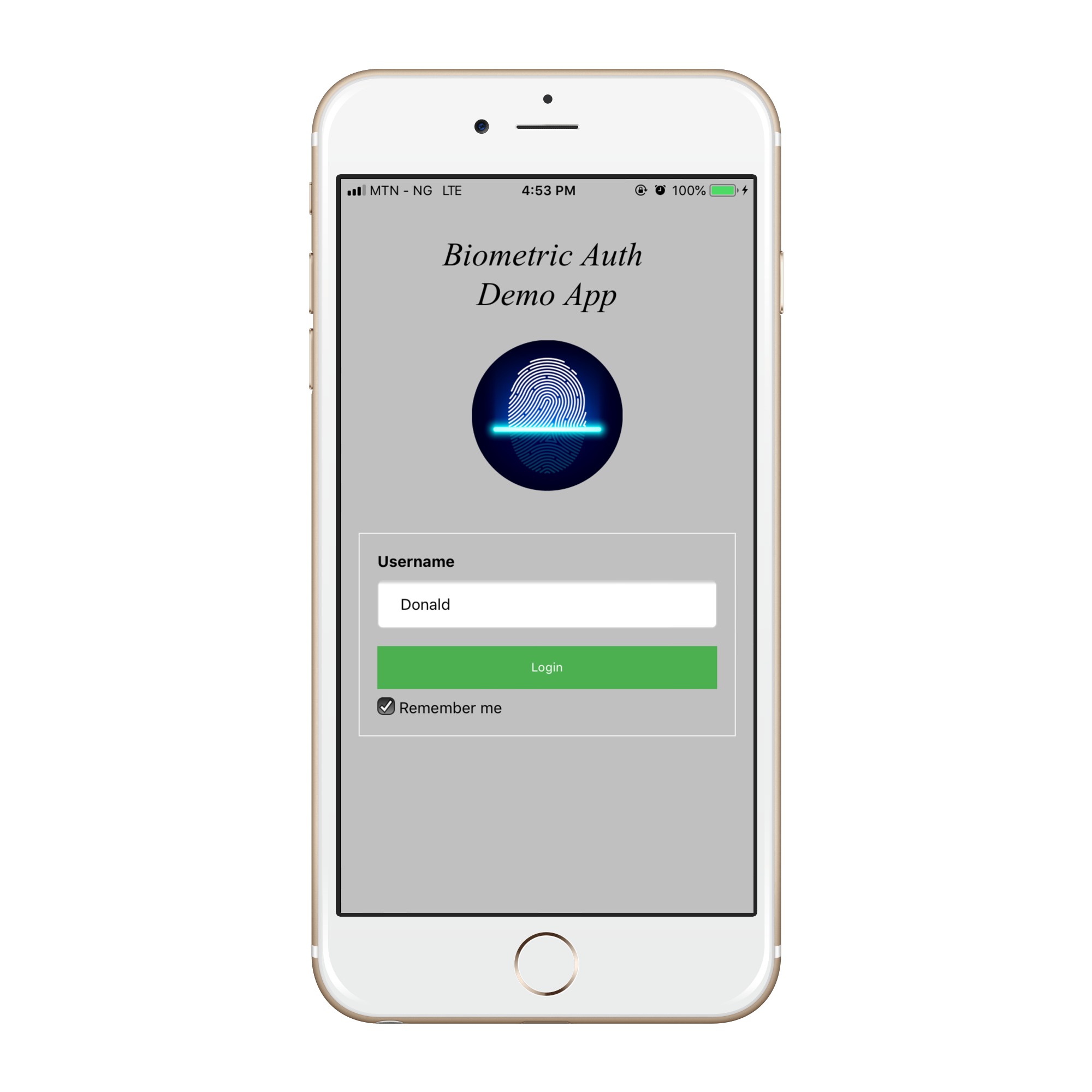 Biometric Authentication (Face & Fingerprint) on iOS and