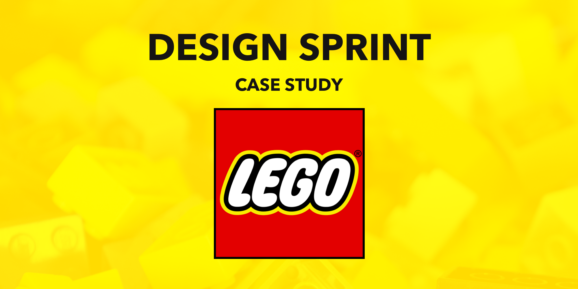How LEGO Run Design Sprints at Scale - UX Planet