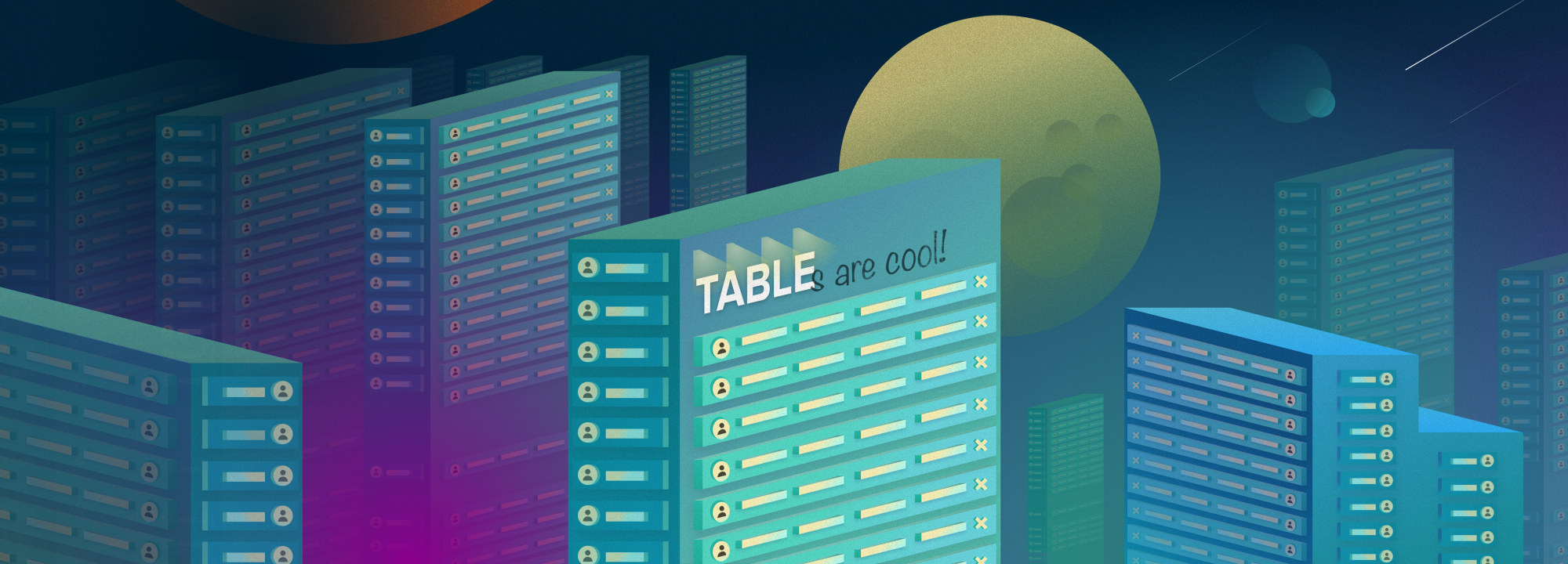 Data Tables Design Basics - Design Nation