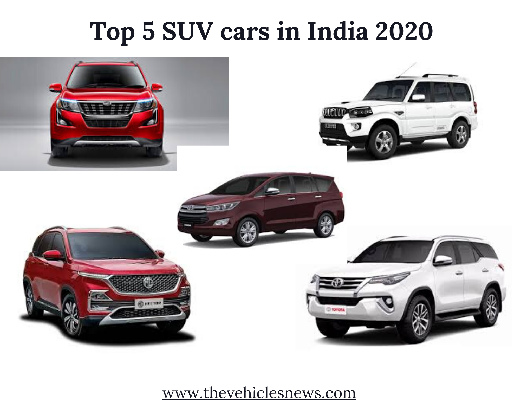 By Automobile Magazines News Exploring Top 5 Suv Cars In India 2020 By The Vehicle News Medium