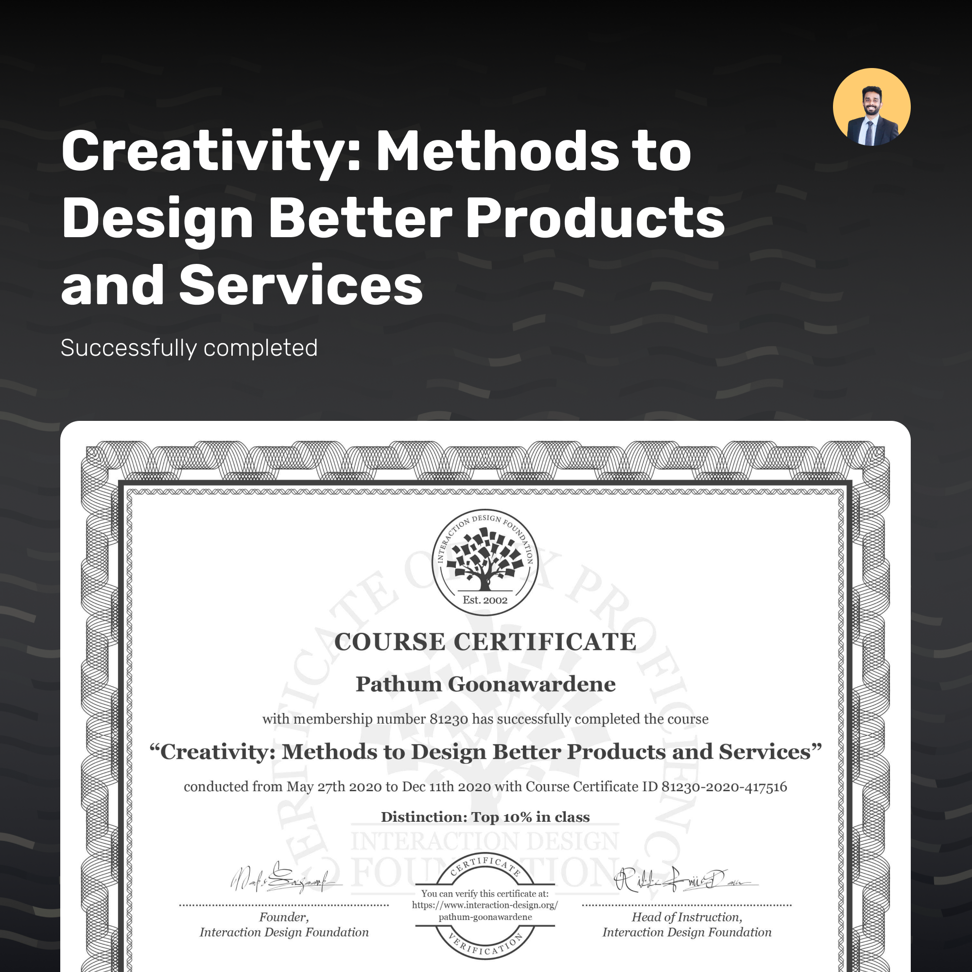 Creativity: Methods to Design Better Products and Services