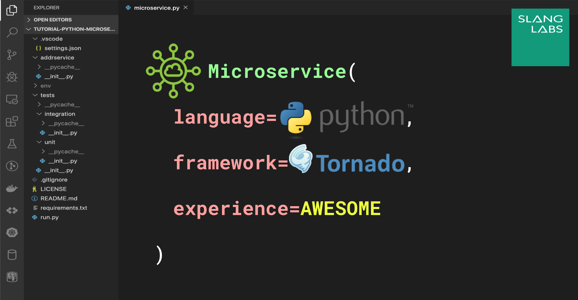 Python Microservices: Build and Test REST endpoints with Tornado