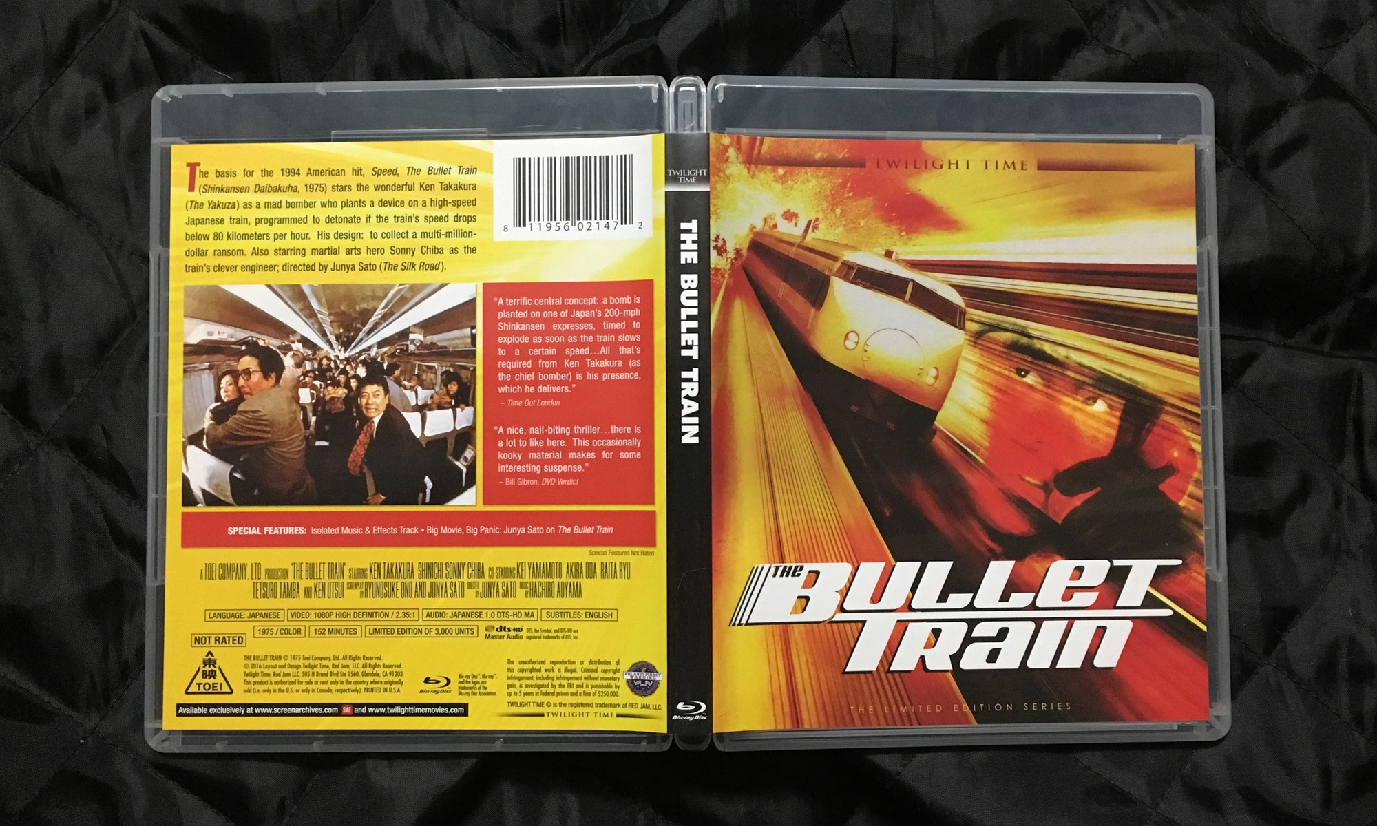 THE BULLET TRAIN — The Film That Inspired SPEED [Blu-ray Review]