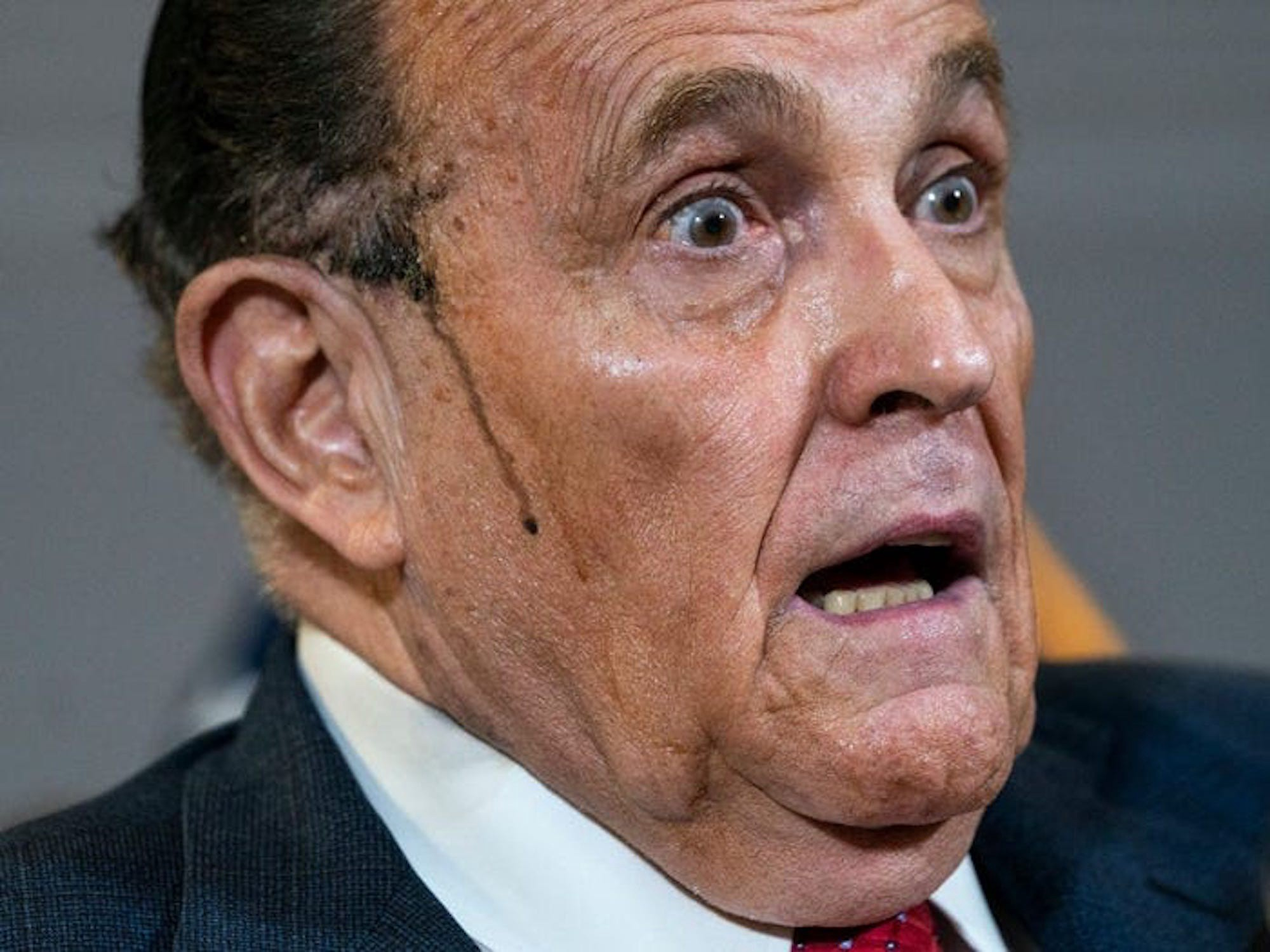 Former New York City Mayor and current Trump lawyer Rudy Giuliani.