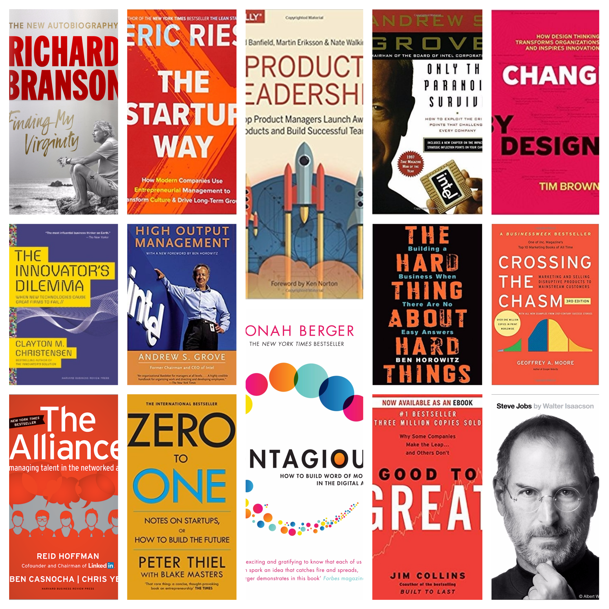 The 18 Best Startup/Business Books I Have Read This Year (2017)