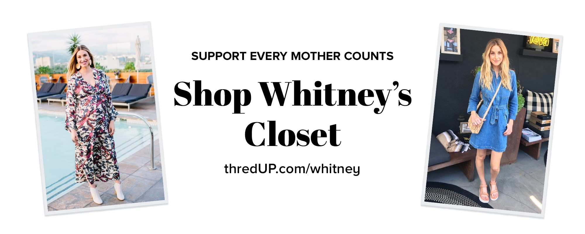 Whitney Port Sells Her Clothing On Thredup For A Cause
