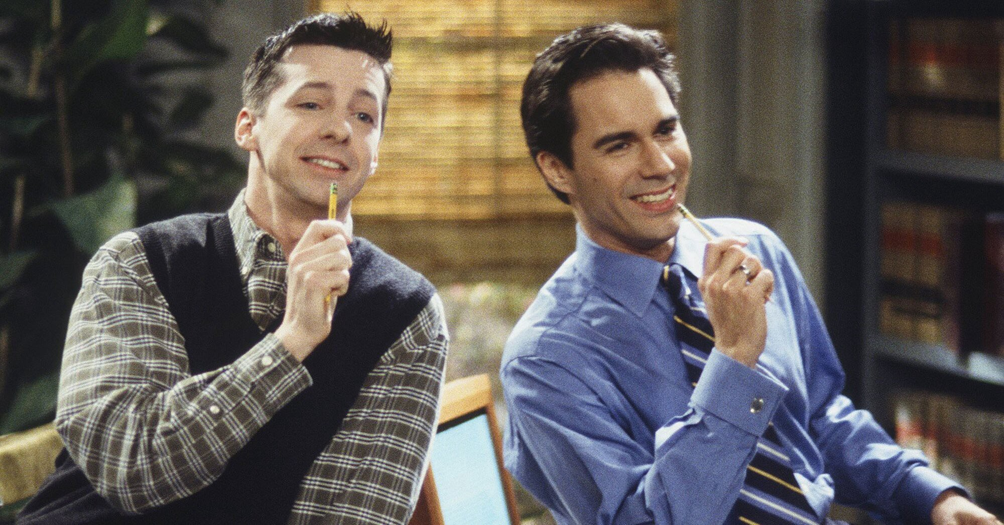 Sean Hayes and Eric McCormack