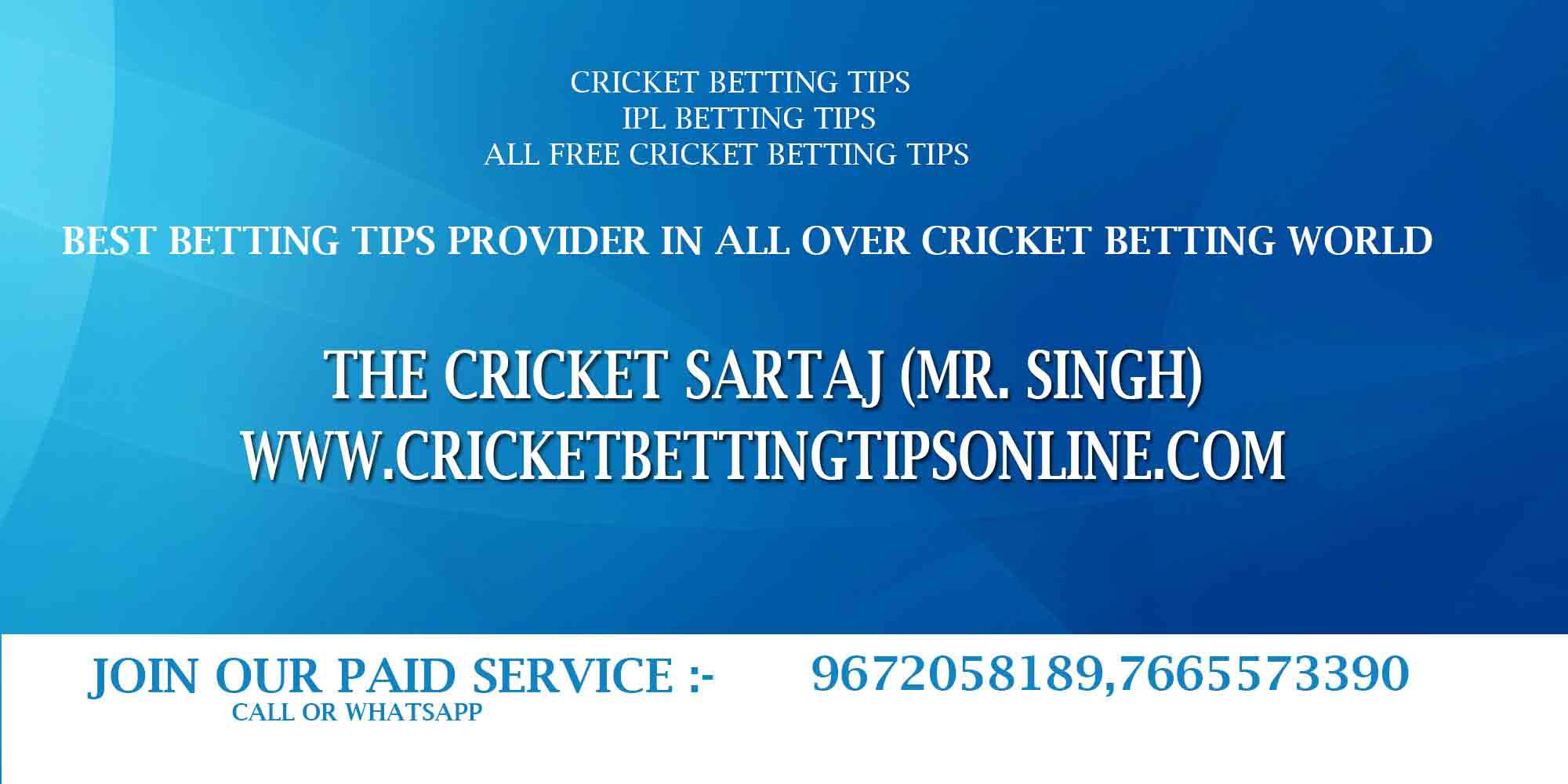Cricket betting tips free ipl premier sports betting bet and win ticket status