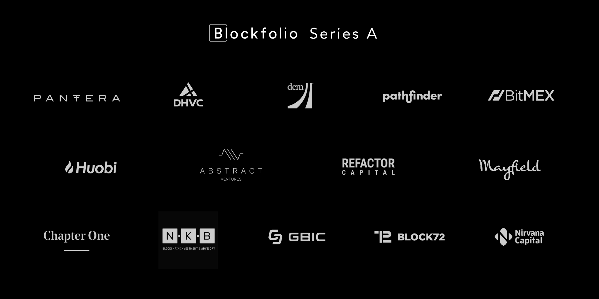 Announcing Blockfolio's $11 5M Series A Financing Round