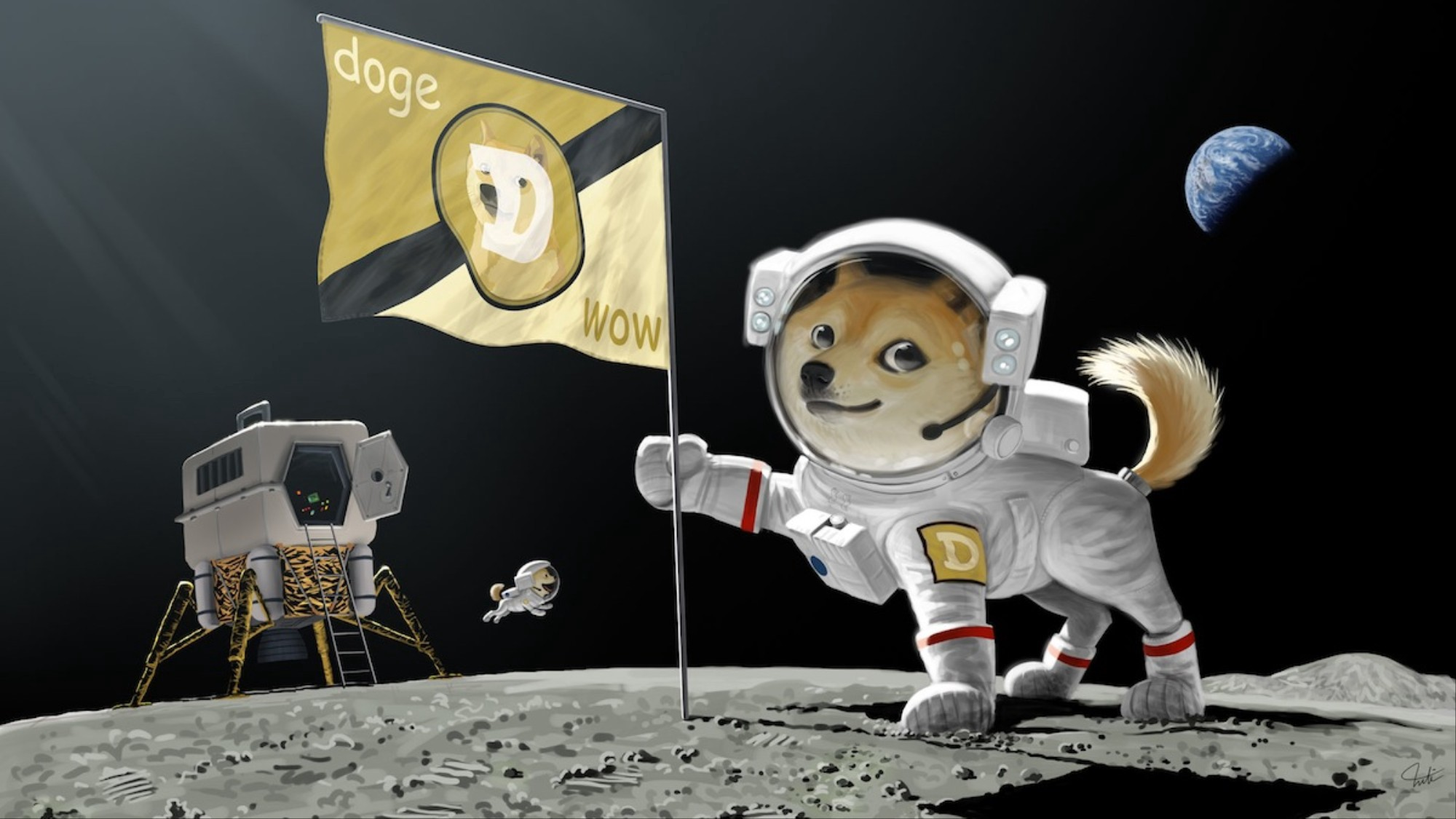 Whaf If Dogecoin Goes to the Moon?   by E. B. Kevin   DataDrivenInvestor