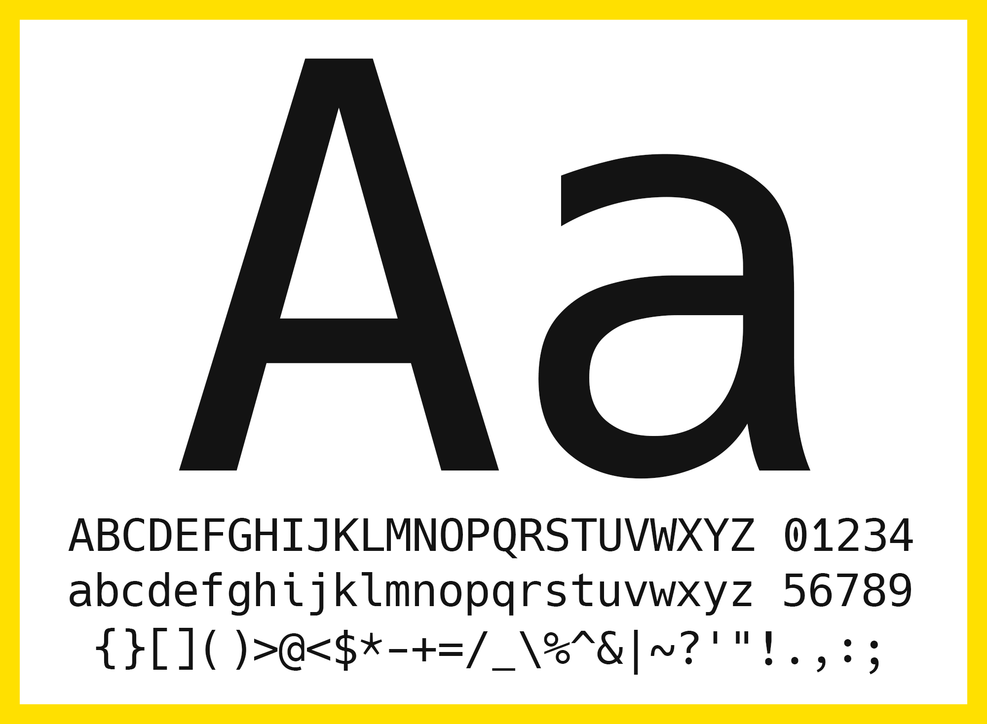 Programming Fonts — A List - Owen Caulfield - Medium