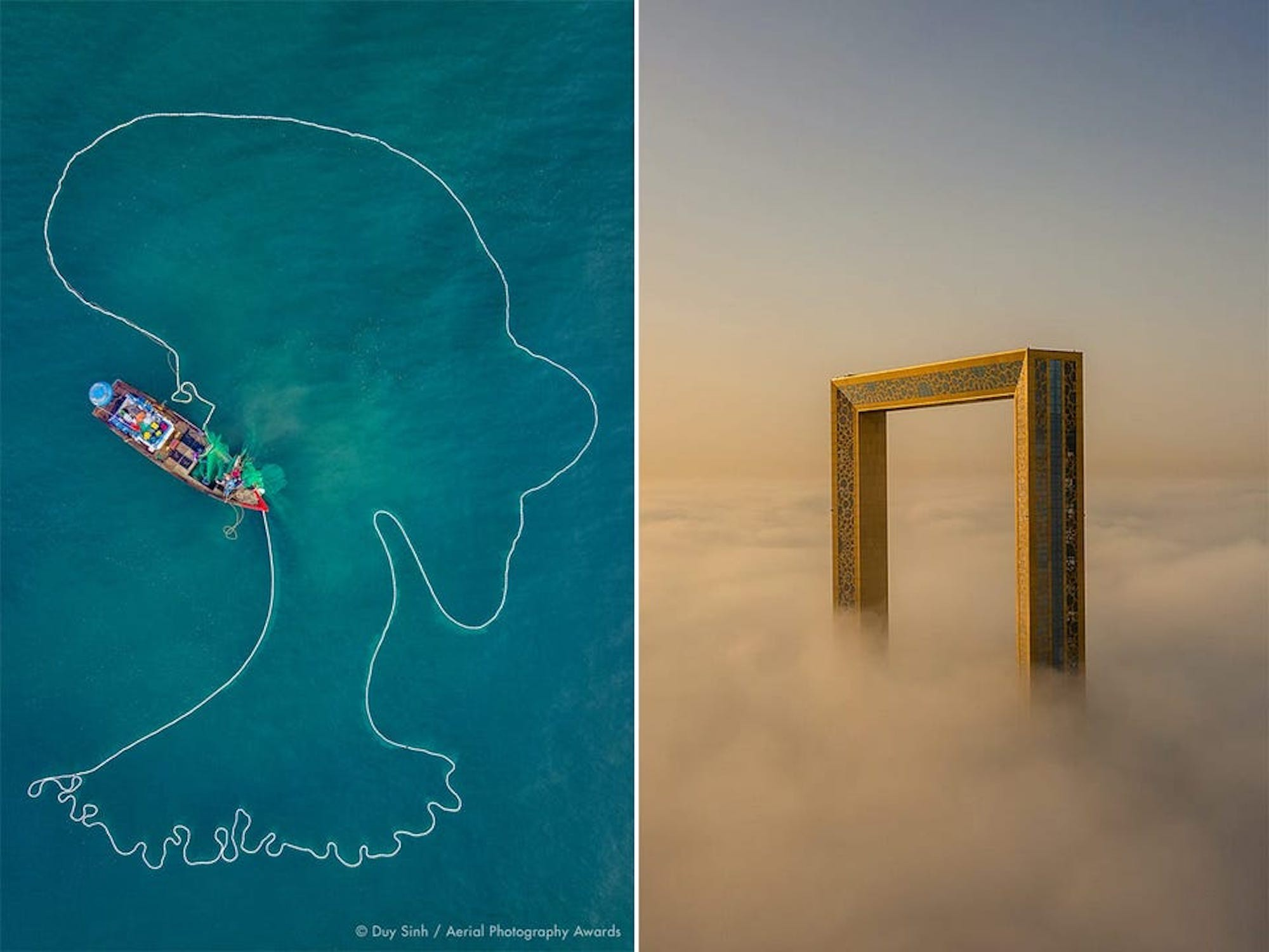 The first annual Aerial Photography Awards celebrate pictures from all over the world.