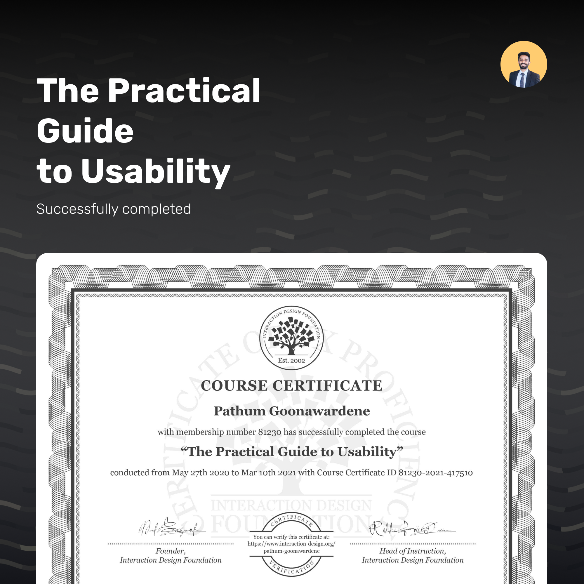 The Practical Guide to Usability
