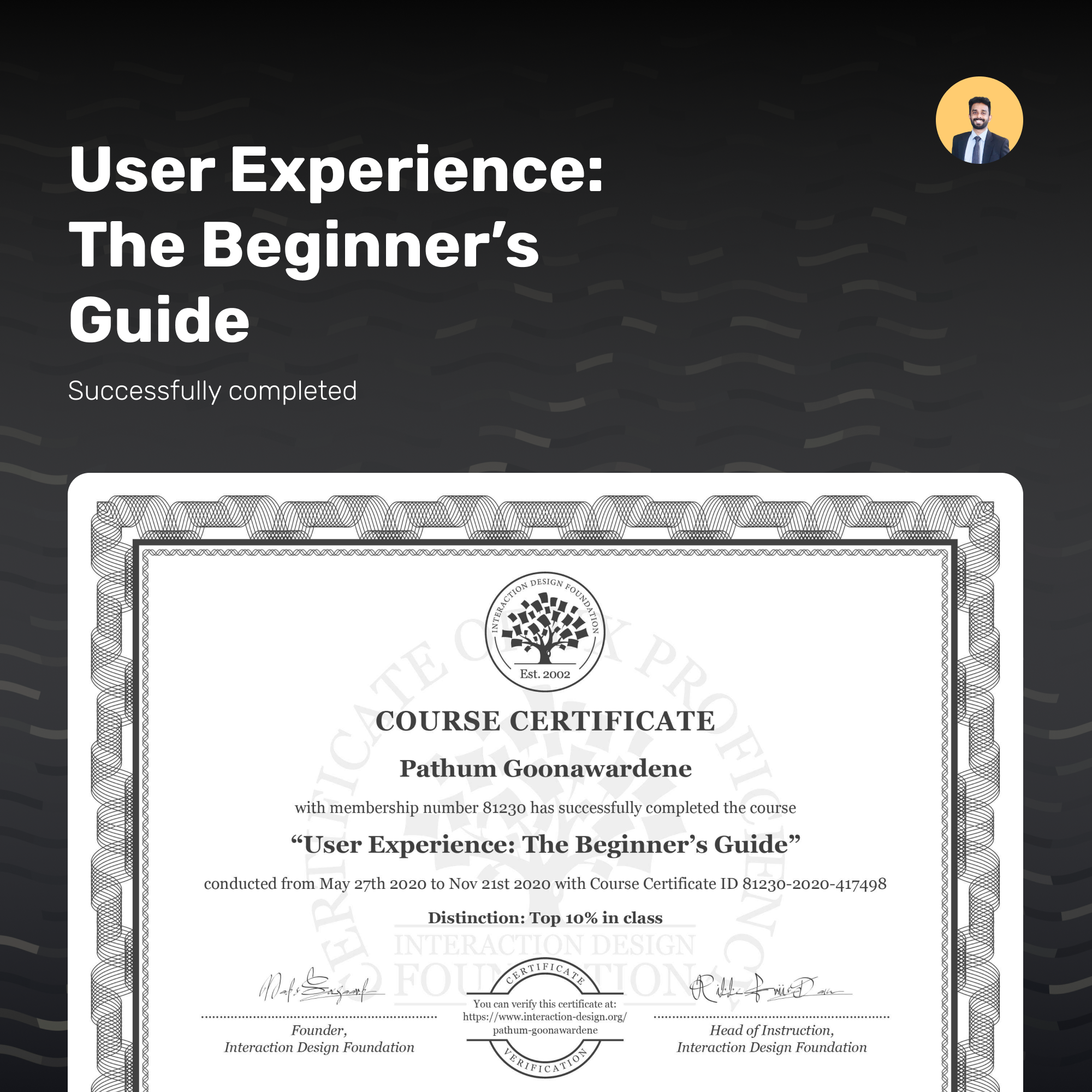 User Experience: The Beginner's Guide