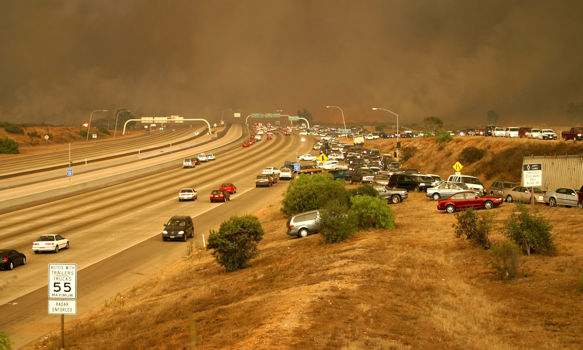 How San Diego is waiving fire code in one of the county's