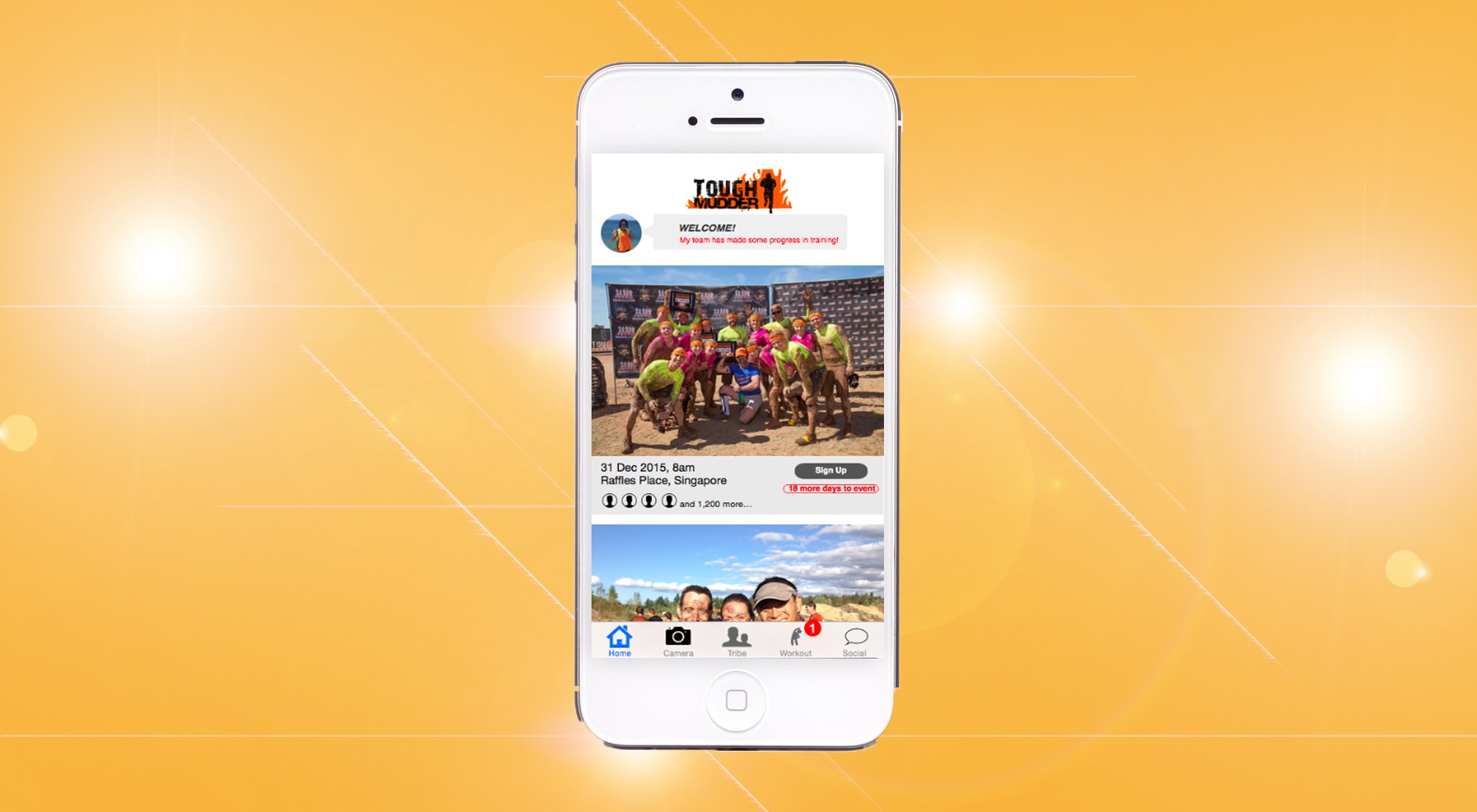 TOUGH MUDDER MOBILE APP: THOUGHTS BEHIND THE SCENES