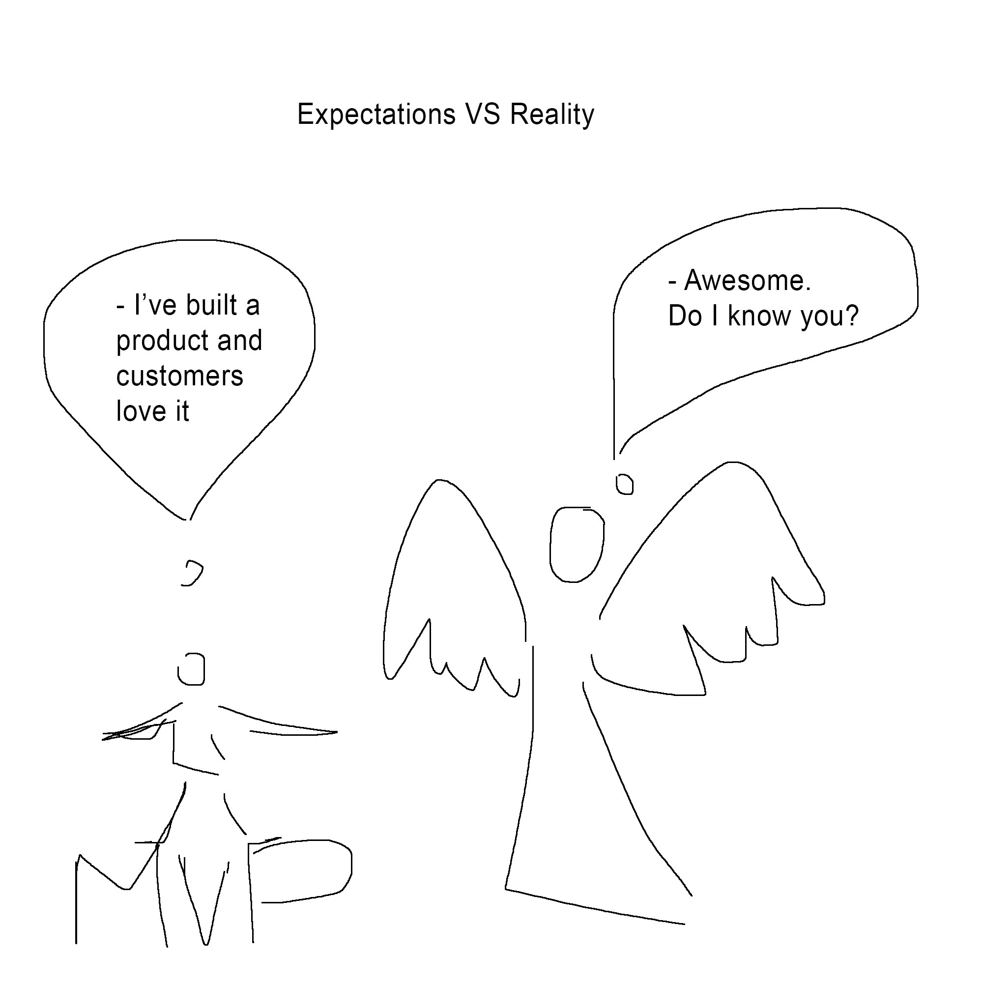 Expectations vs reality: angels