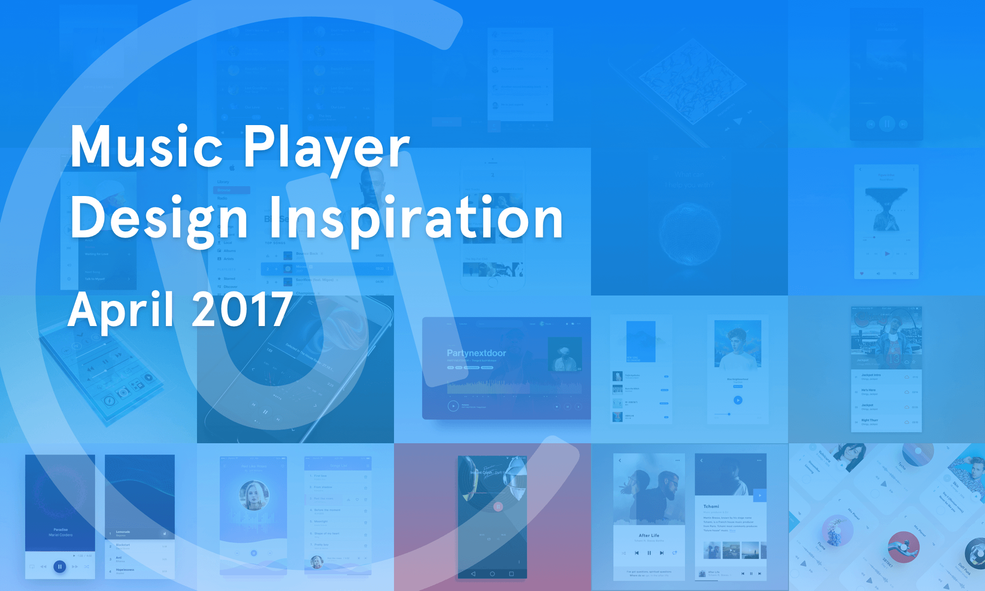 Music Player Inspiration — April 2017 - Collect UI - Medium
