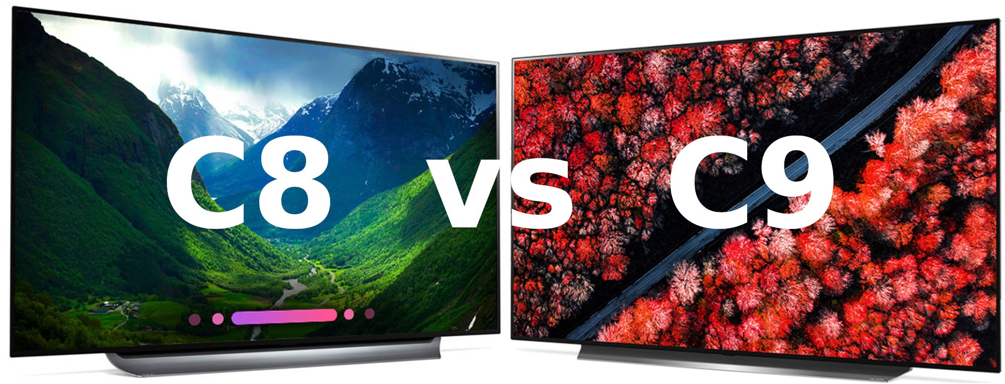LG C8 vs C9 Review (OLED77C8PUA vs OLED77C9PUB