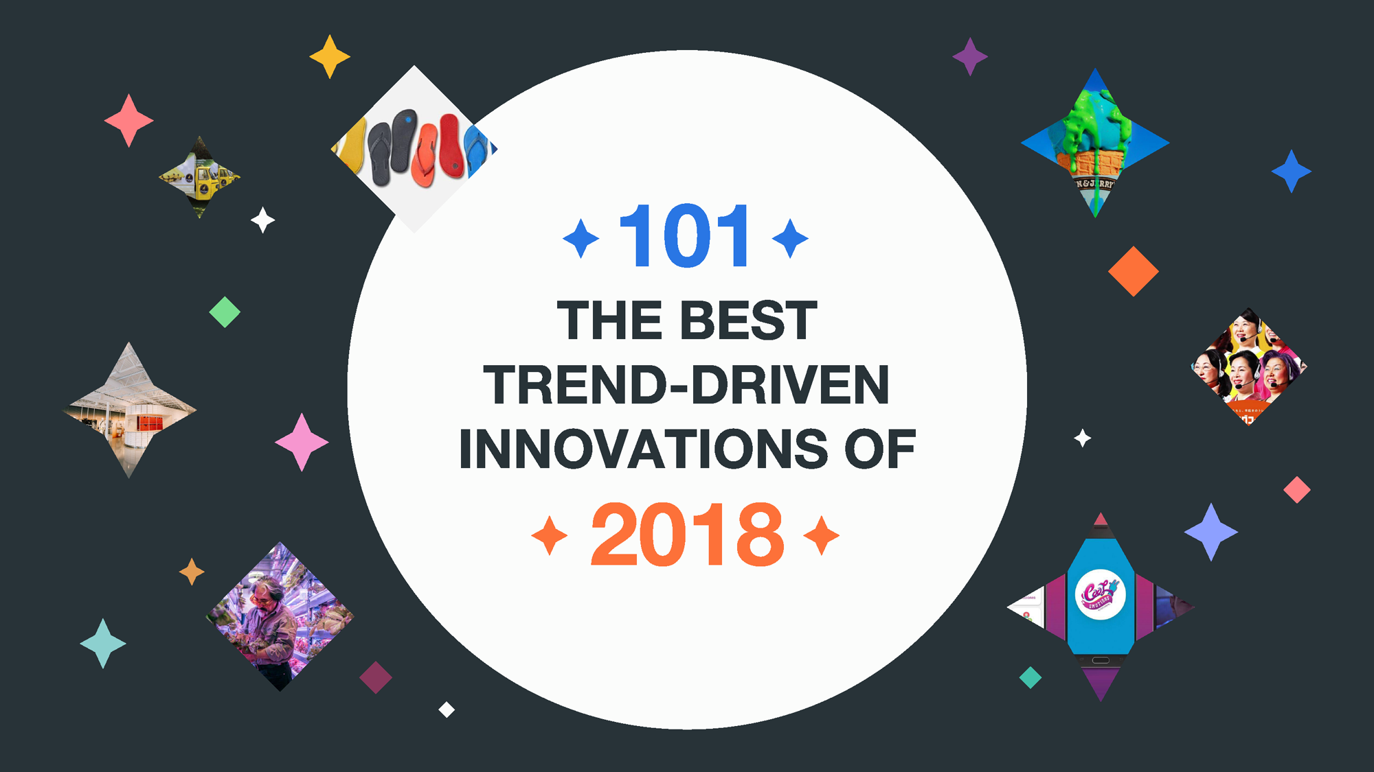 101 of the best consumer-focused innovations from 2018