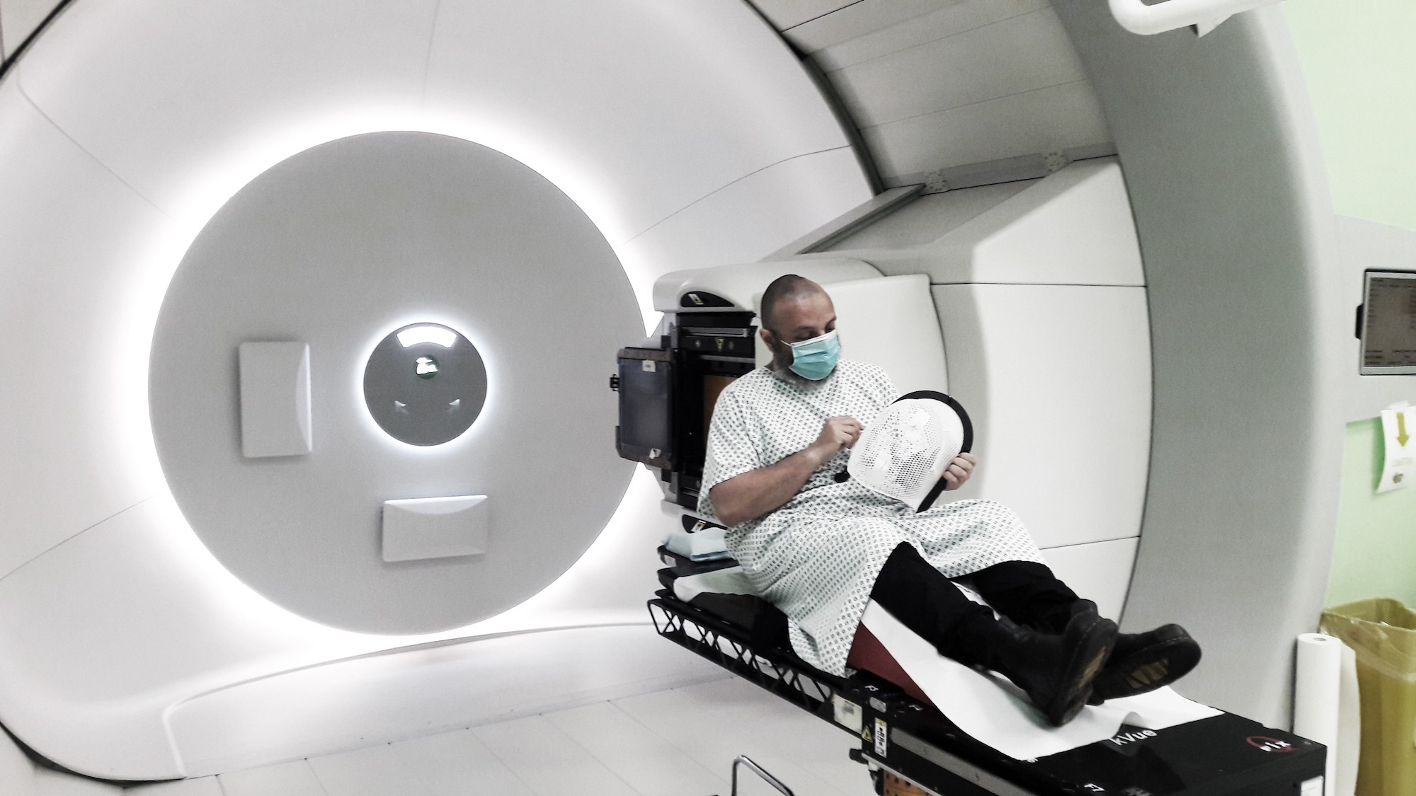 me in the protontherapy gantry