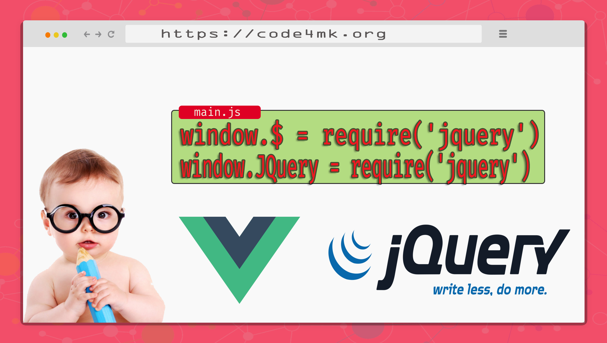 How to use JQuery inside Vue | add other js library inside Vue