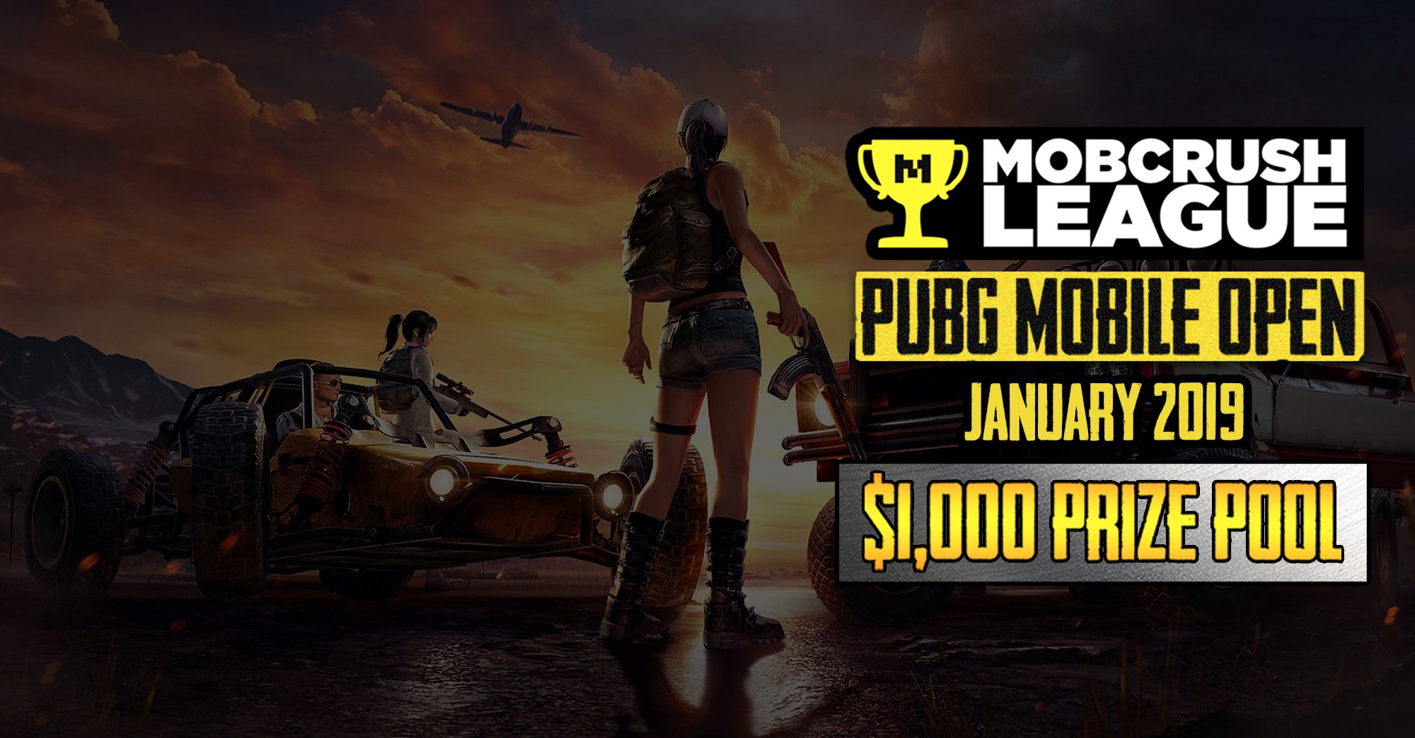 The First Mobcrush League Tournament For 2019 Is Here Win