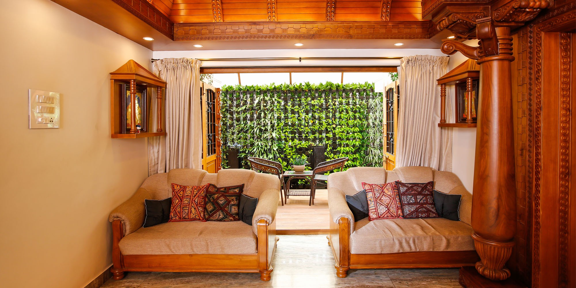 Tips To Introduce Eco Friendly Interiors In Kerala Style Home Designs By Monnaie Architects Interiors Medium
