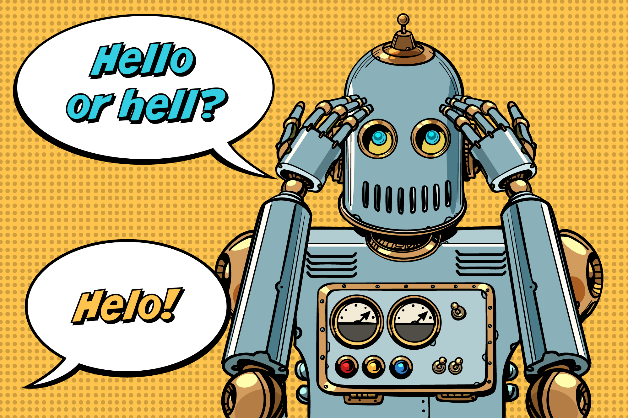 Build AIML chatbot with DeepPavlov Spelling Corrector