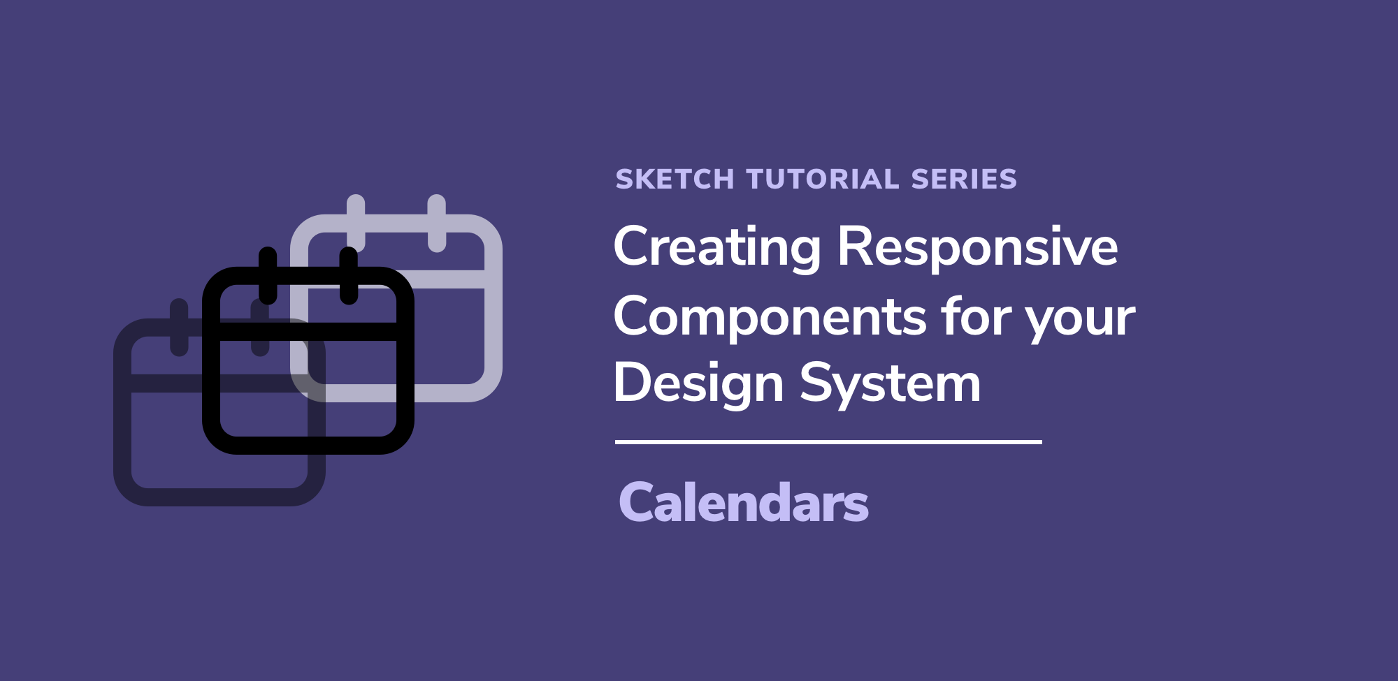 Creating Responsive Components for your Design System: Calendars