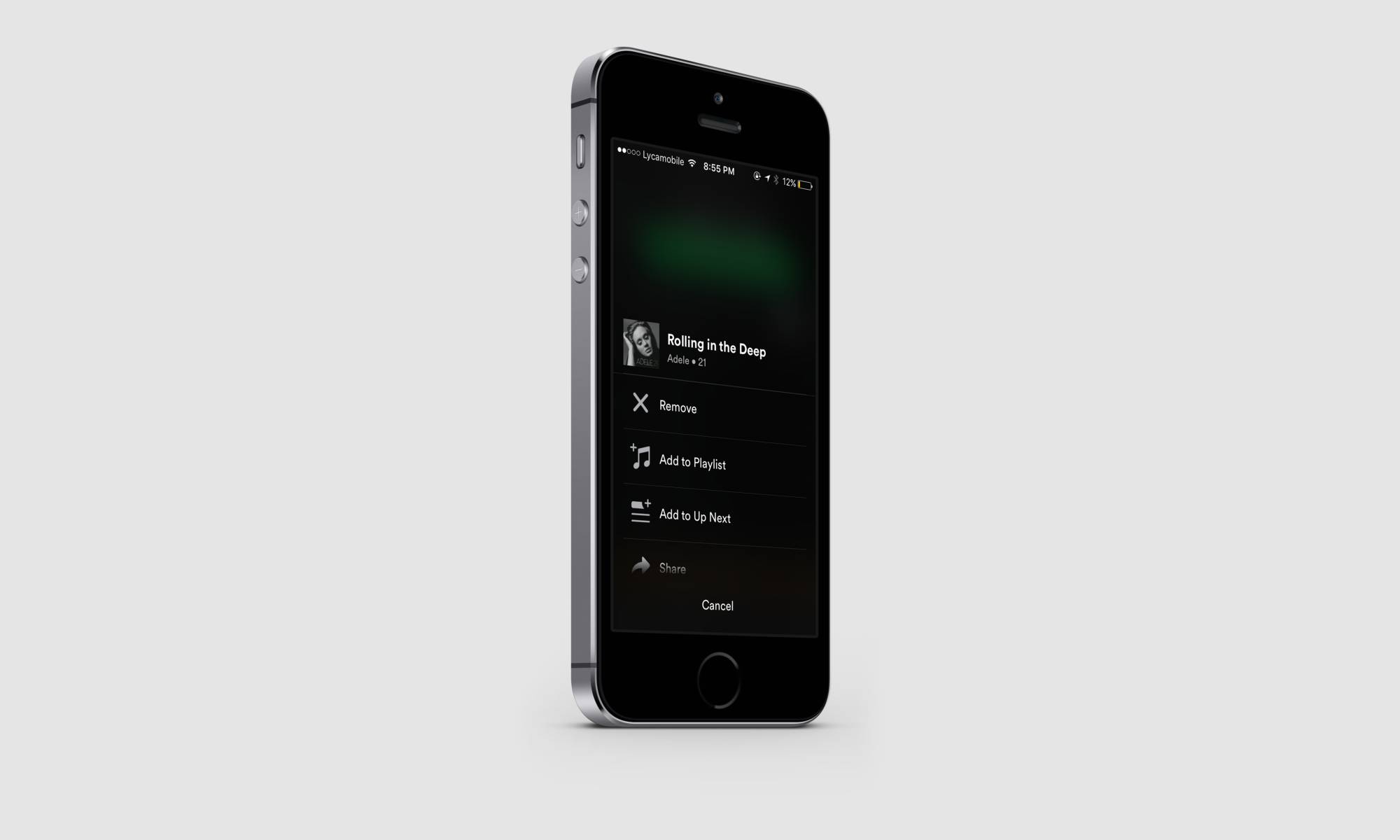 Spotify: Reimagining playlist population - Monthly Designs