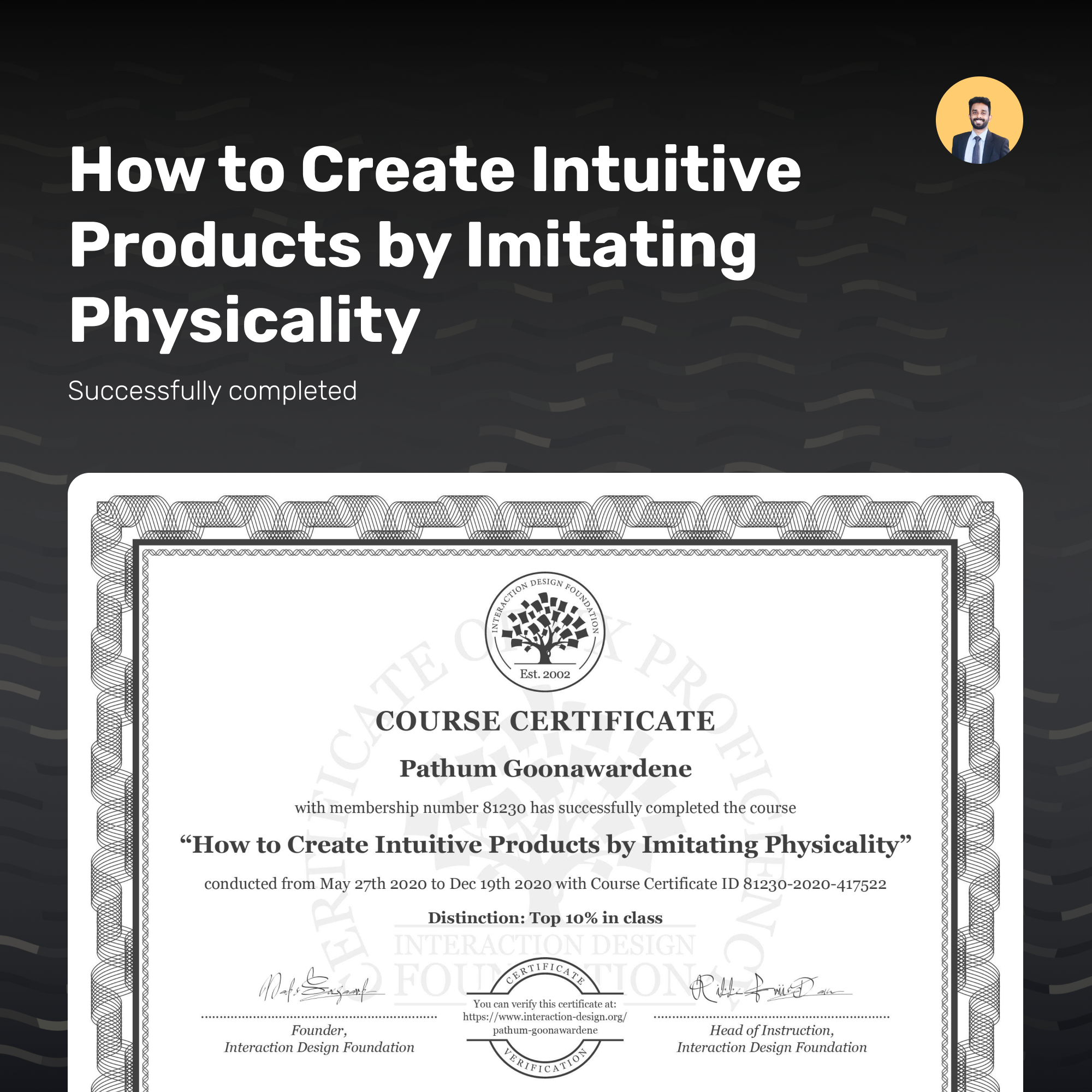 How to Create Intuitive Products by Imitating Physicality