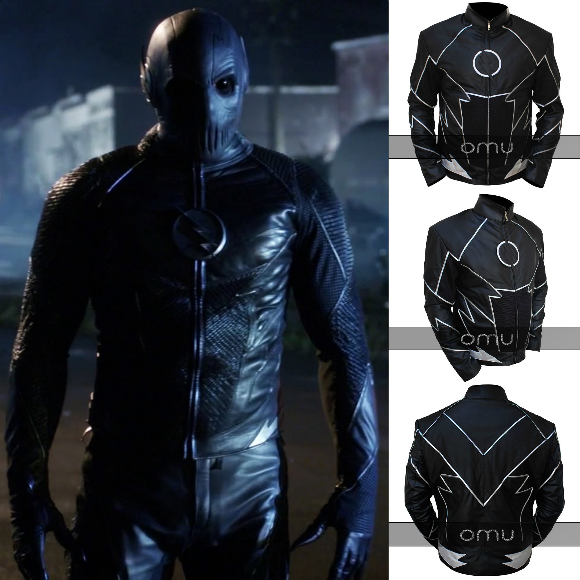 Flash Zolomon Teddy Sears Black Jacket By Laraemon Medium