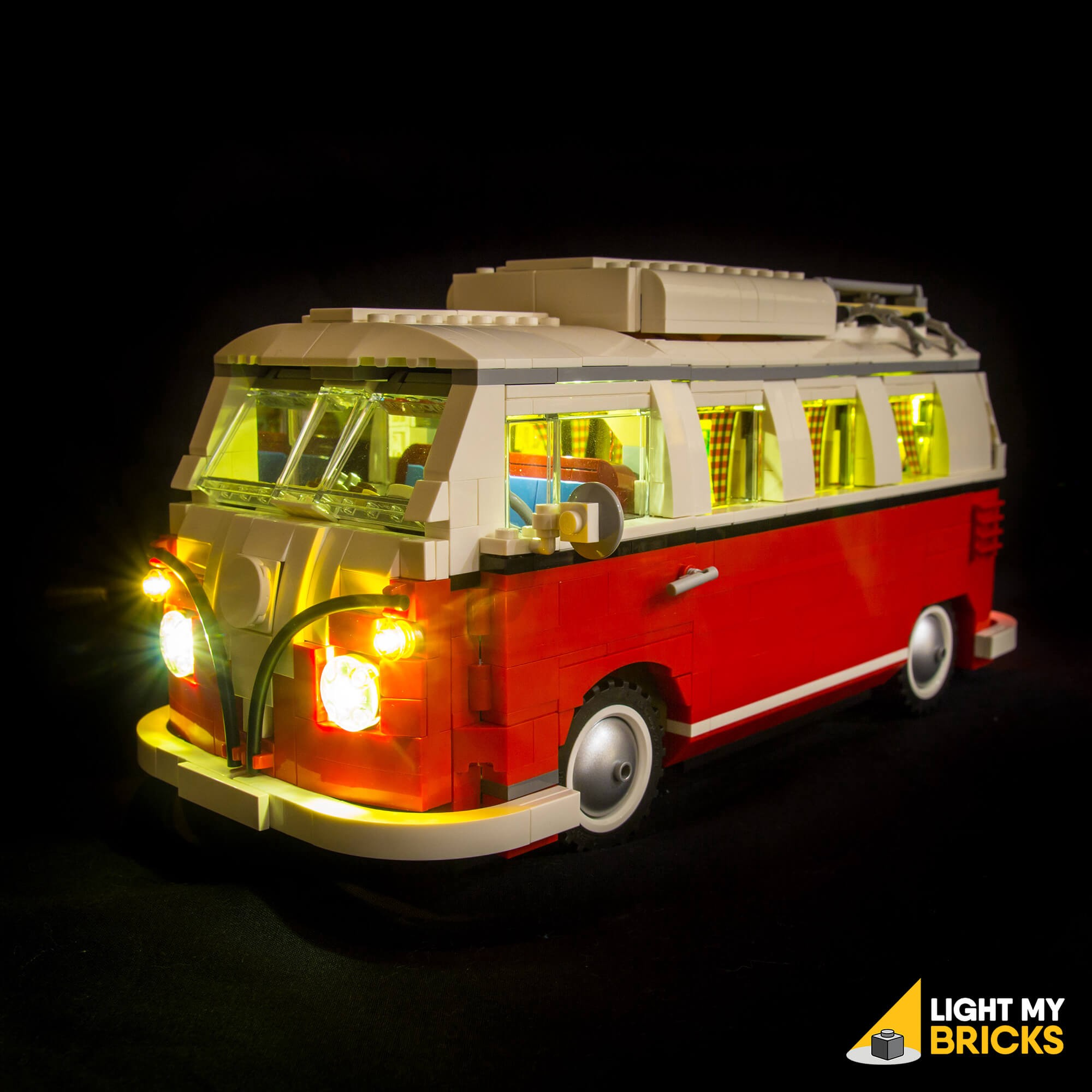 Light My Bricks Volkswagen T1 Camper Van Led Lighting Kit