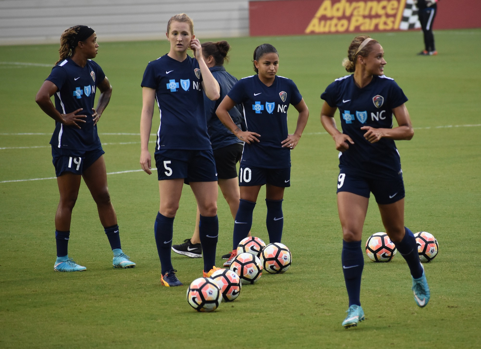 The North Carolina Courage clinch playoff spot with a win
