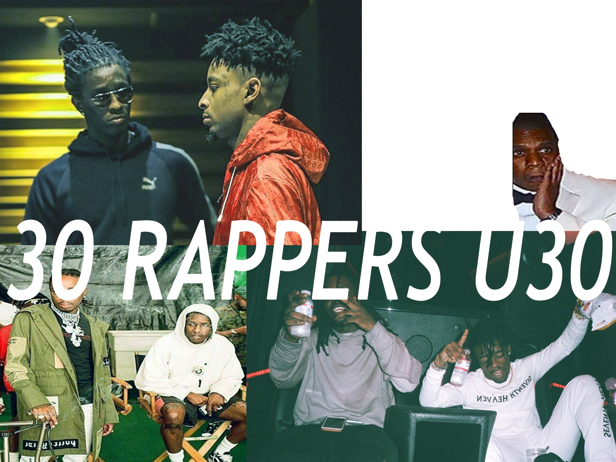The Top 30 Rap Artists Under 30 Yrs Old A Diary By Caineandguns Medium