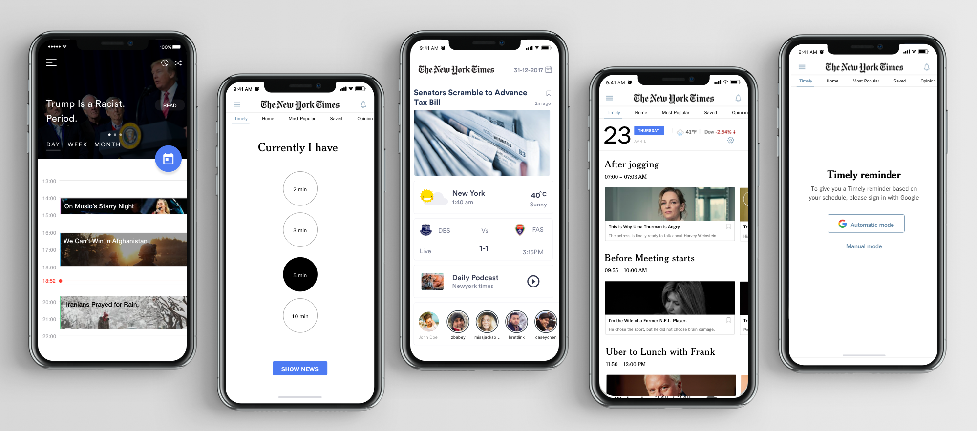 Redesigning the New York Times app — a UX case study