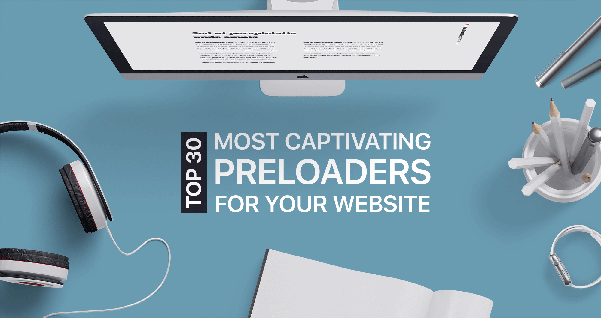 Top 30 Most Captivating Preloaders for Your Website