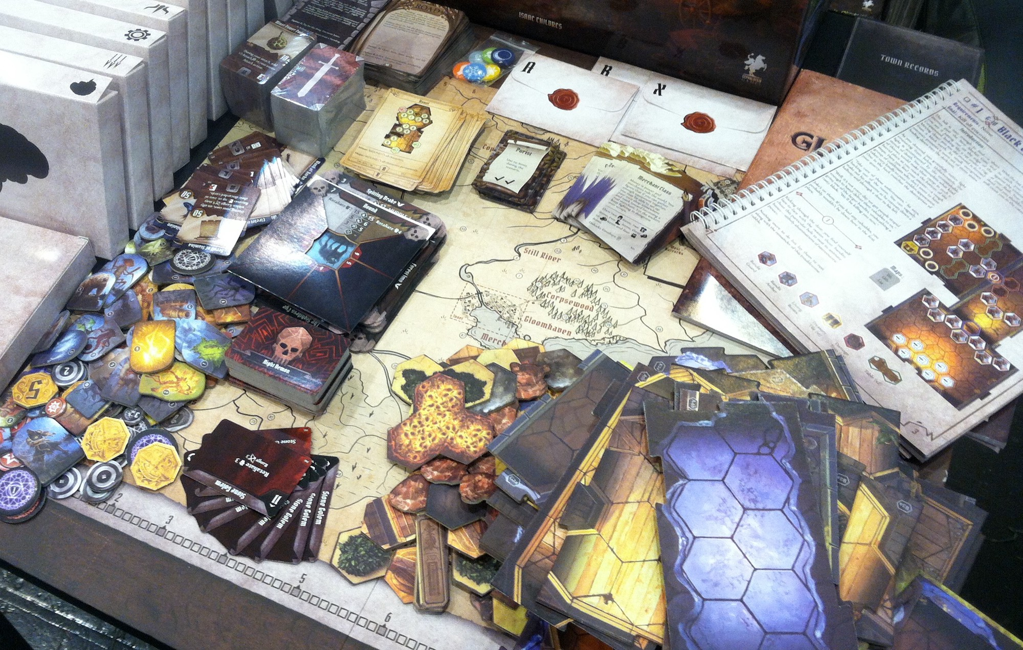 Gloomhaven: The Craze, The Creation, The Re-sellers, The Reprint