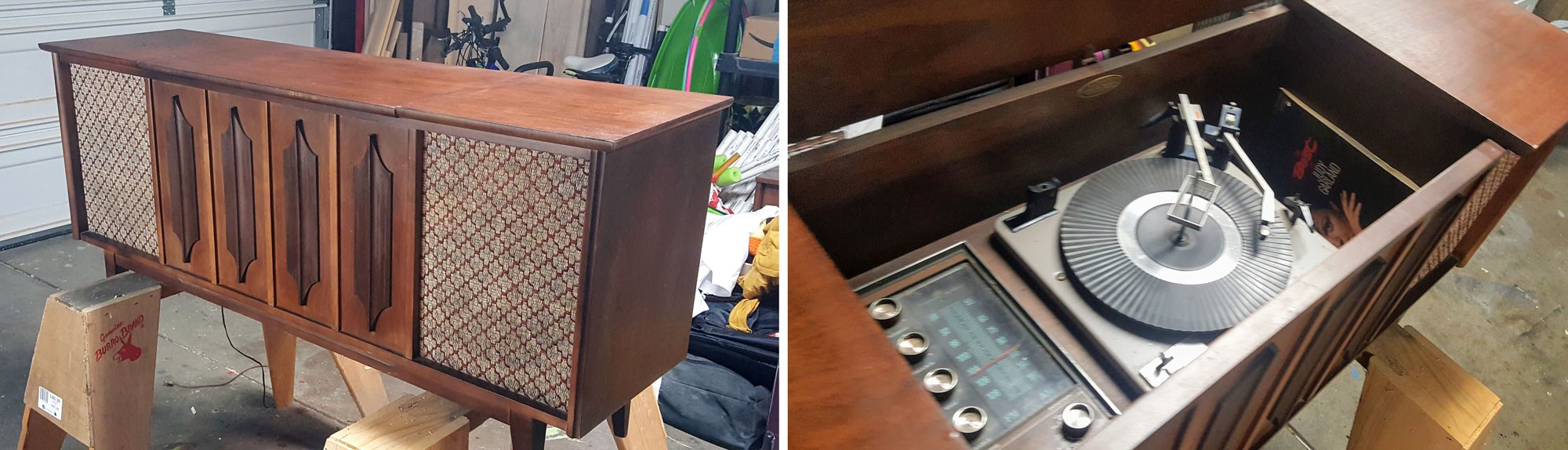 From An Antique Stereo Console To A