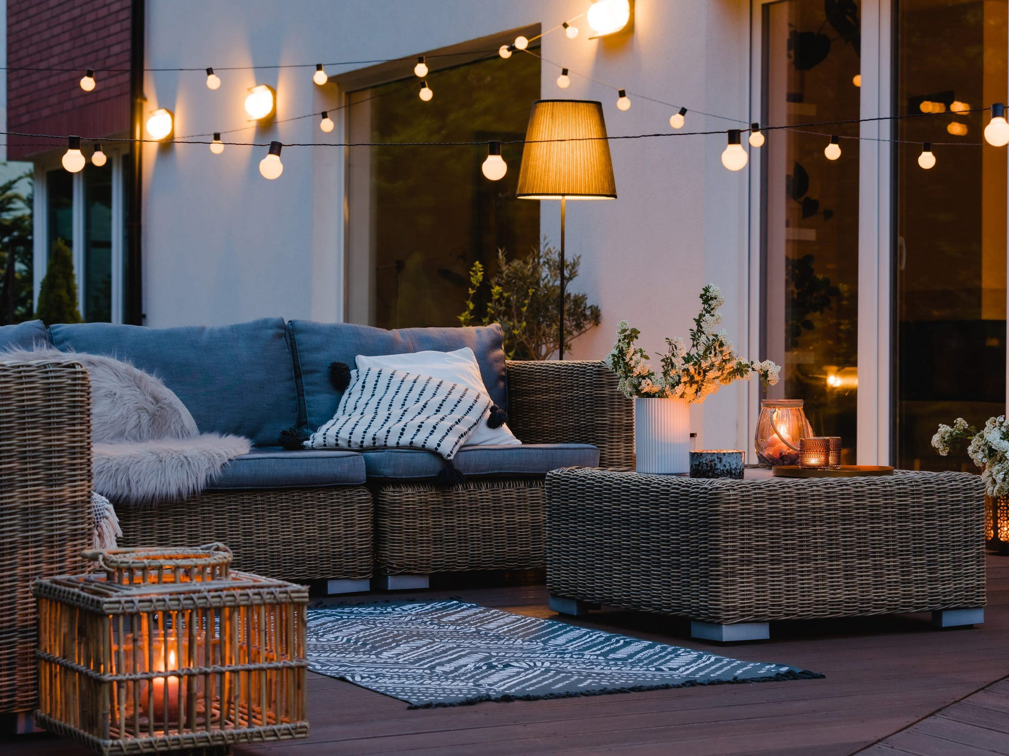 An outdoor space.