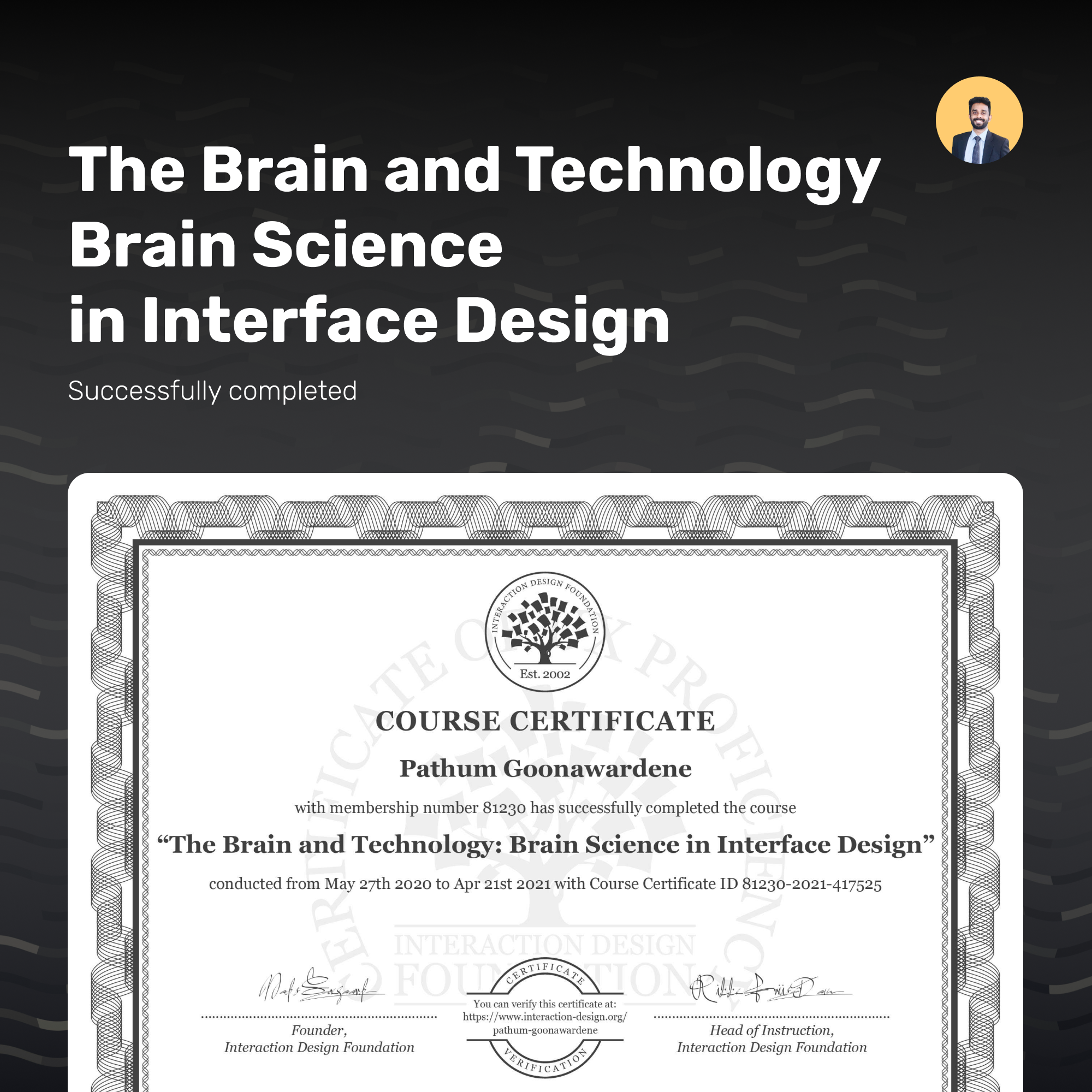 The Brain and Technology: Brain Science in Interface Design
