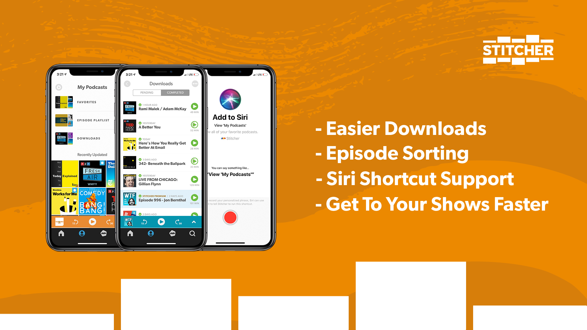 Stitcher for iOS Just Got Even Better (And Easier) - Stitcher Blog
